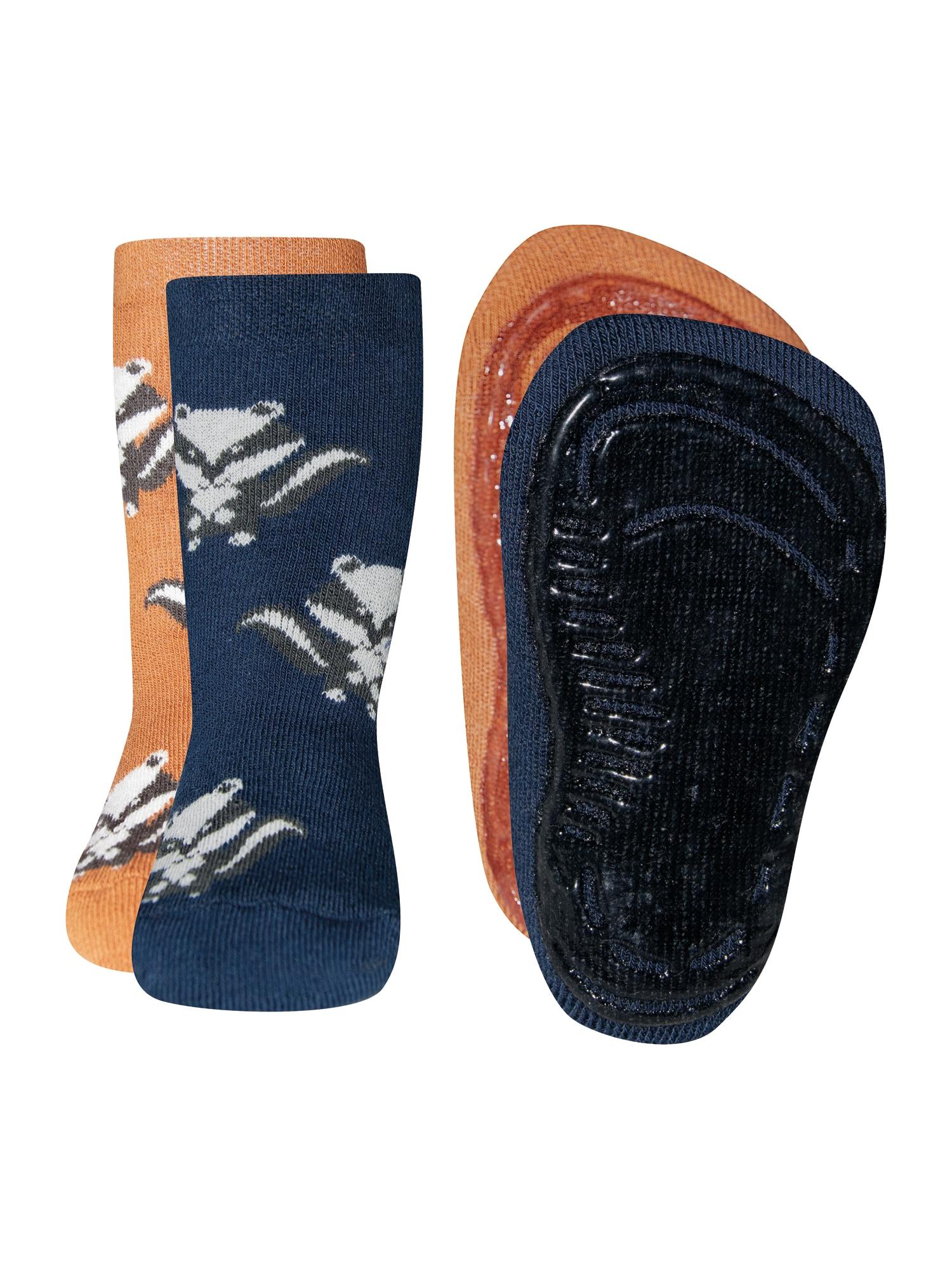EWERS Ponožky  karamelová / modrá