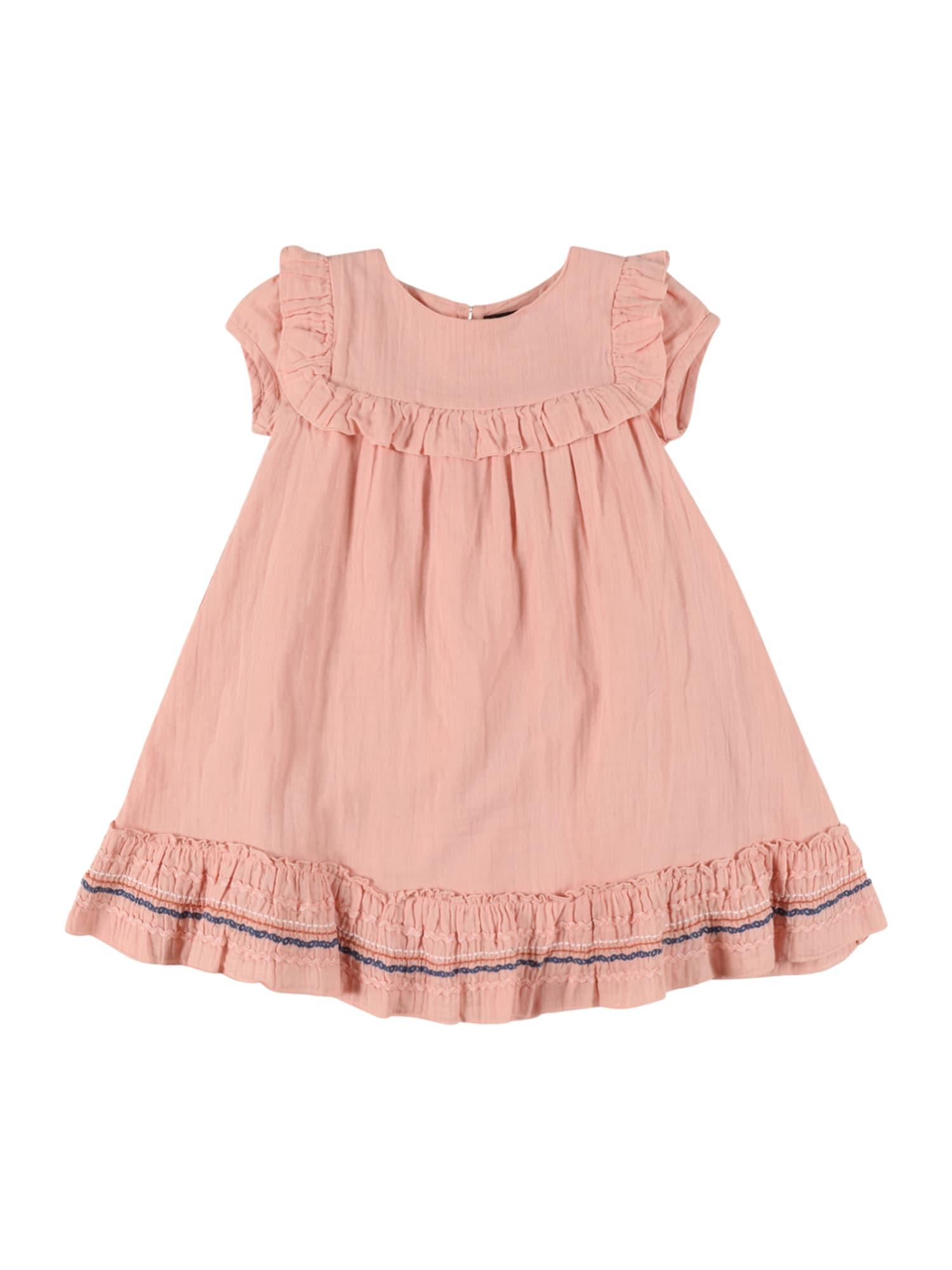 BASEFIELD Suknelė persikų spalva