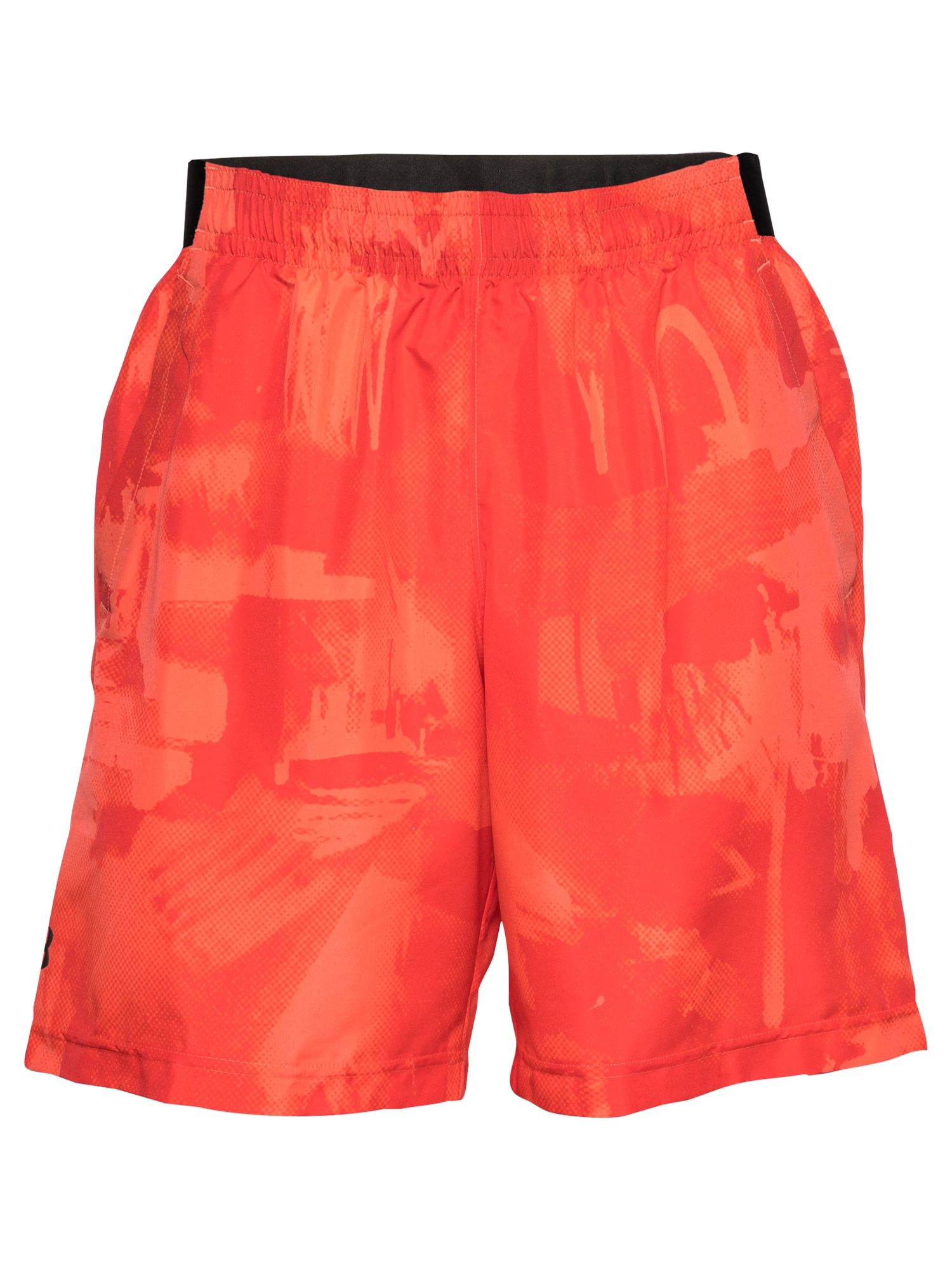 UNDER ARMOUR Sportinės kelnės raudona / juoda