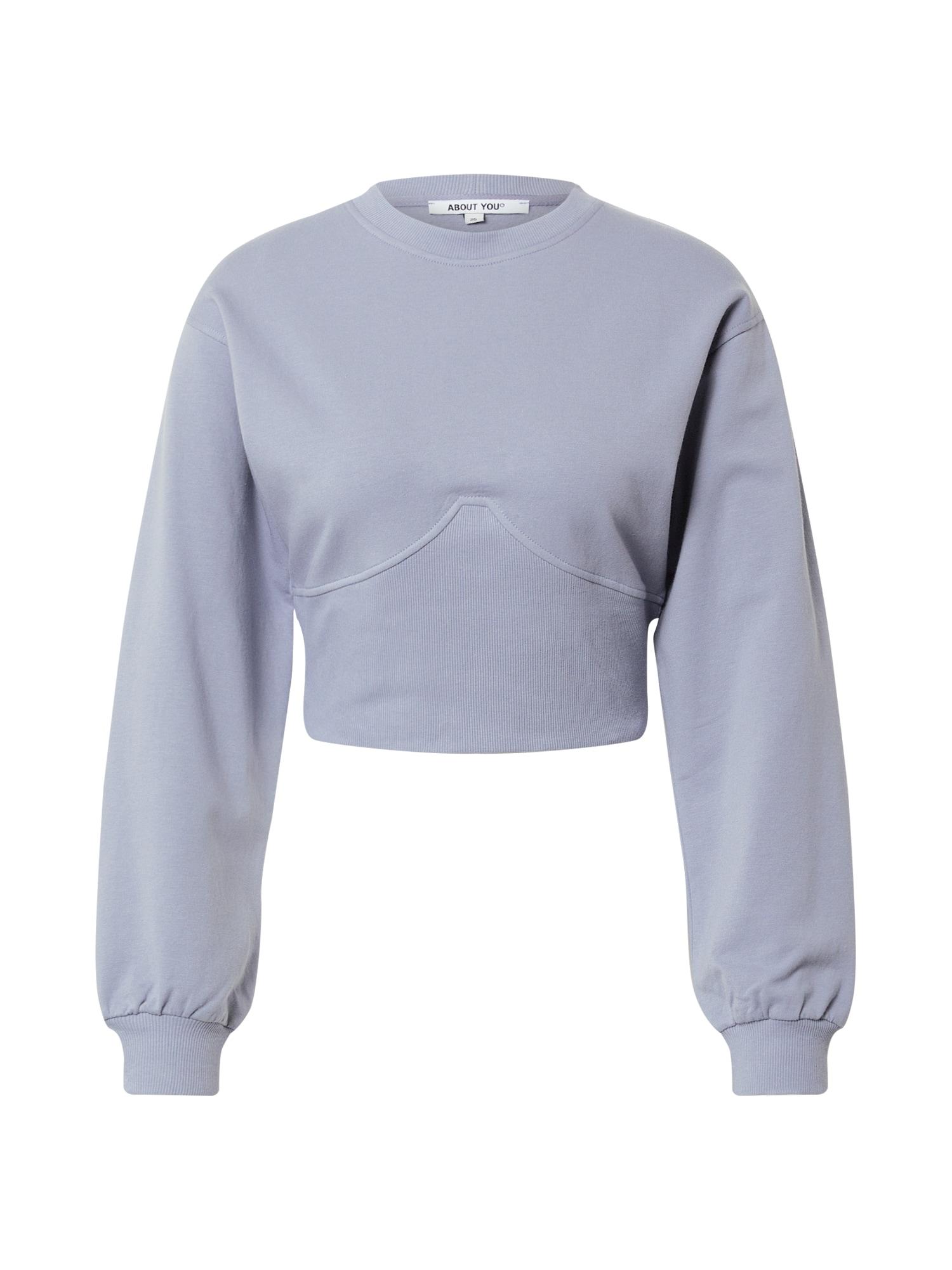 ABOUT YOU Megztinis be užsegimo 'Eve' mėlyna