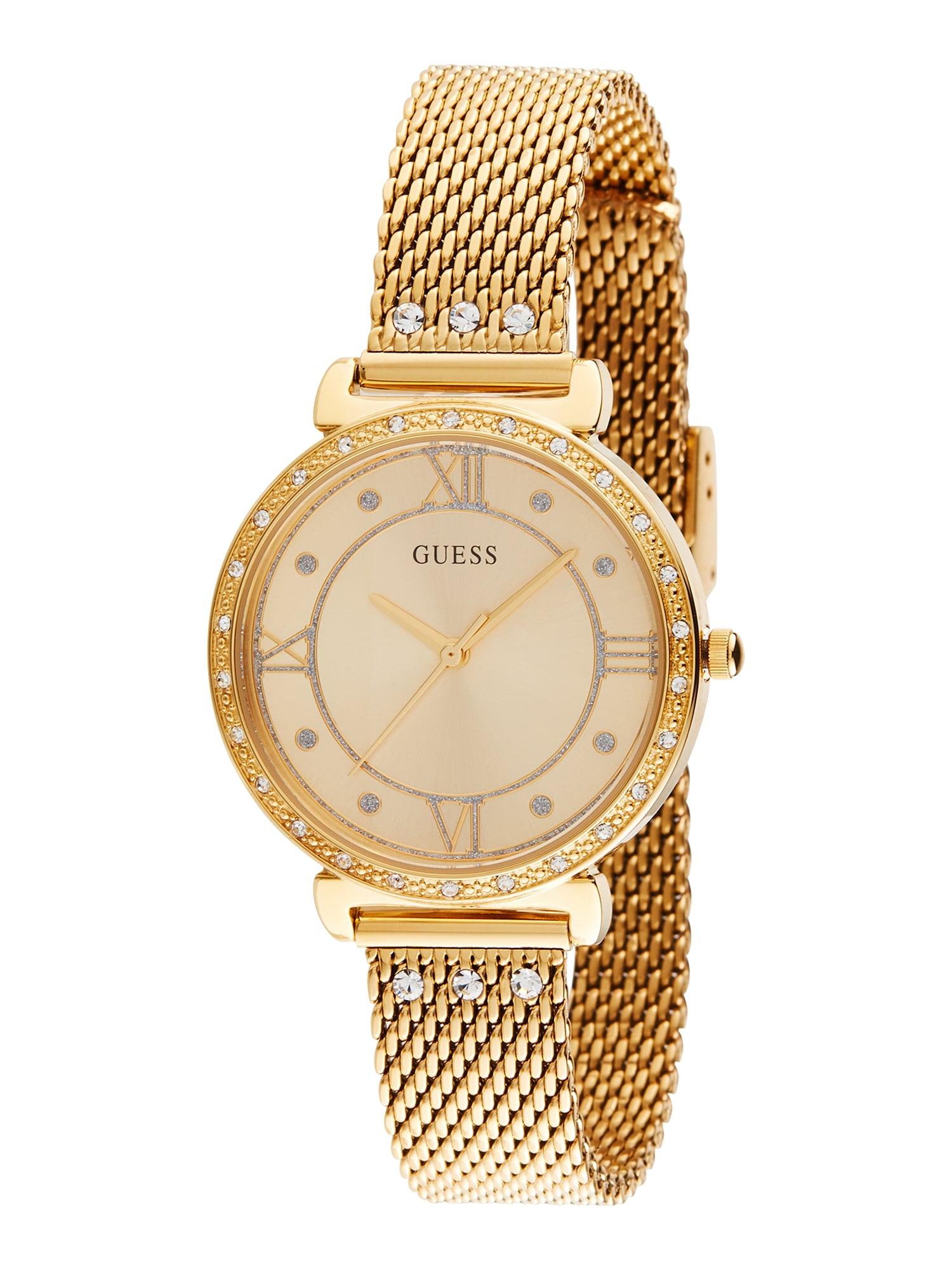 GUESS Analoginis (įprasto dizaino) laikrodis auksas