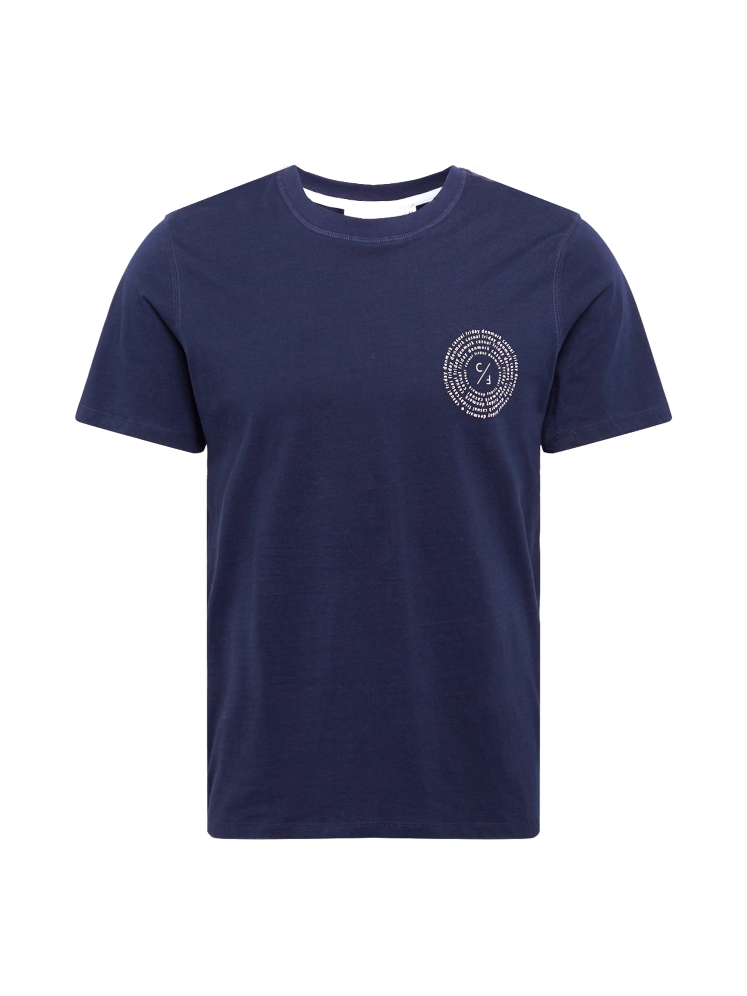 Casual Friday Marškinėliai tamsiai mėlyna / balta