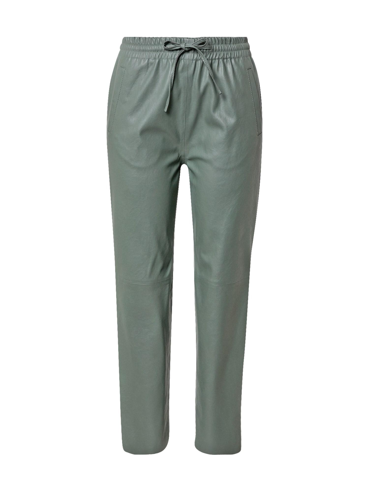 Rich & Royal Kelnės pastelinė žalia