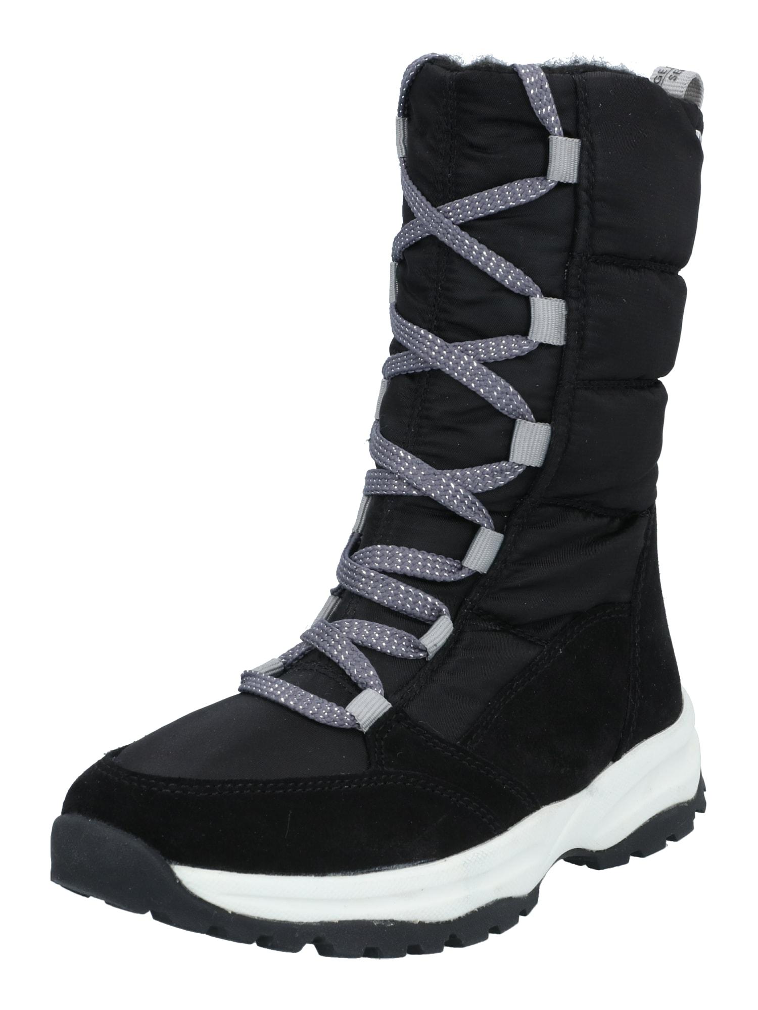 RICHTER Sniego batai juoda / balta