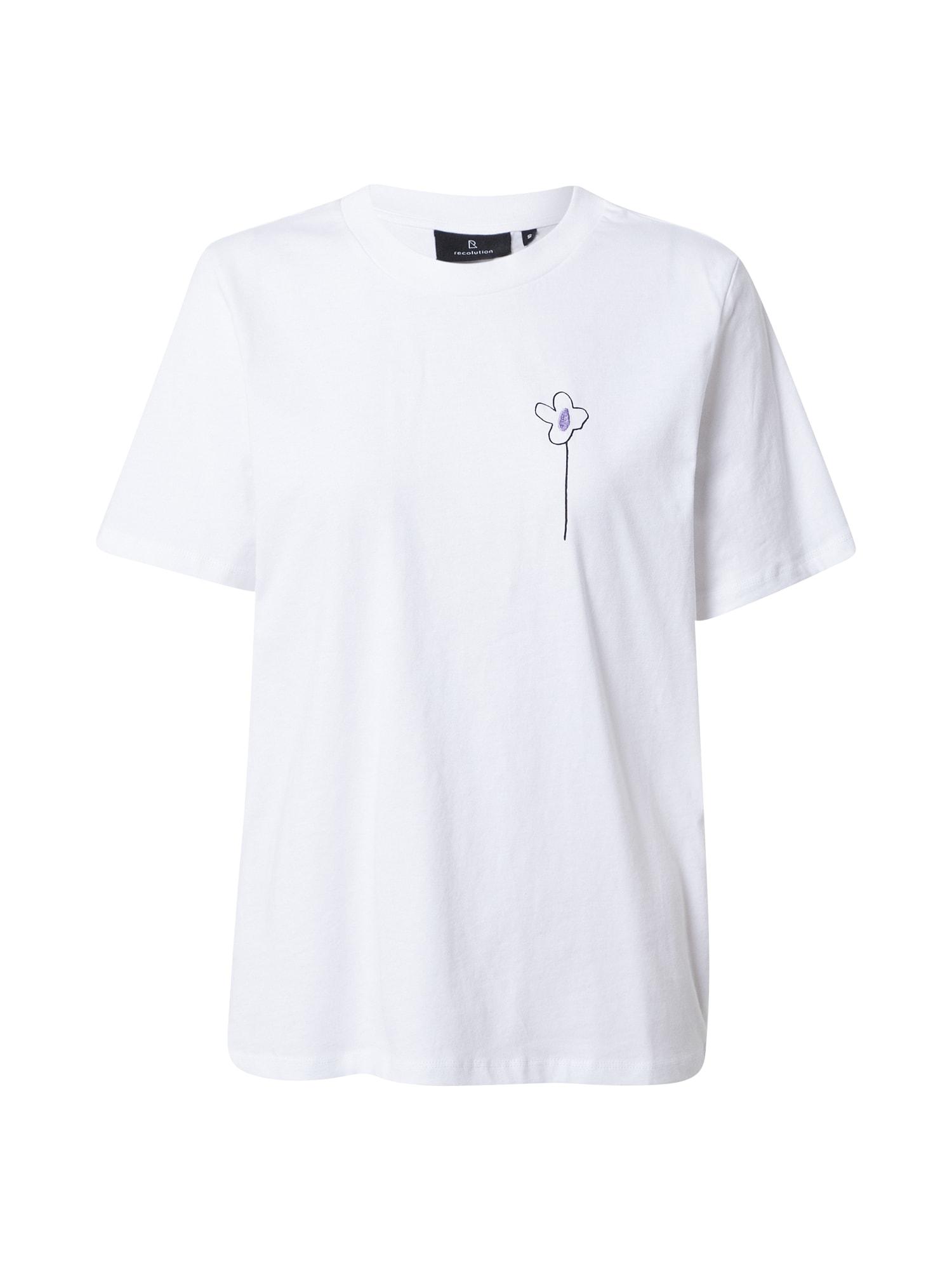 recolution Marškinėliai balta