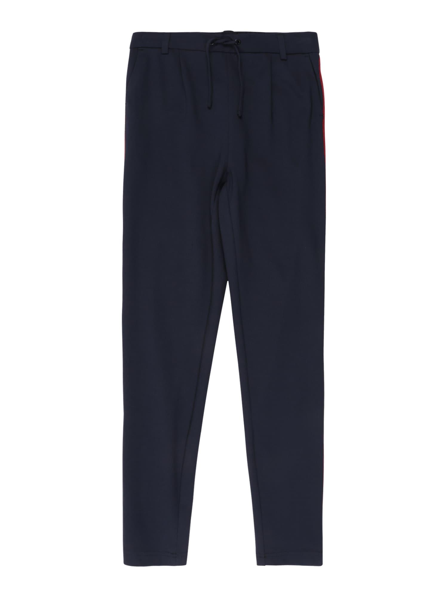 KIDS ONLY Kalhoty 'POPTRASH'  noční modrá / červená / bílá / černá