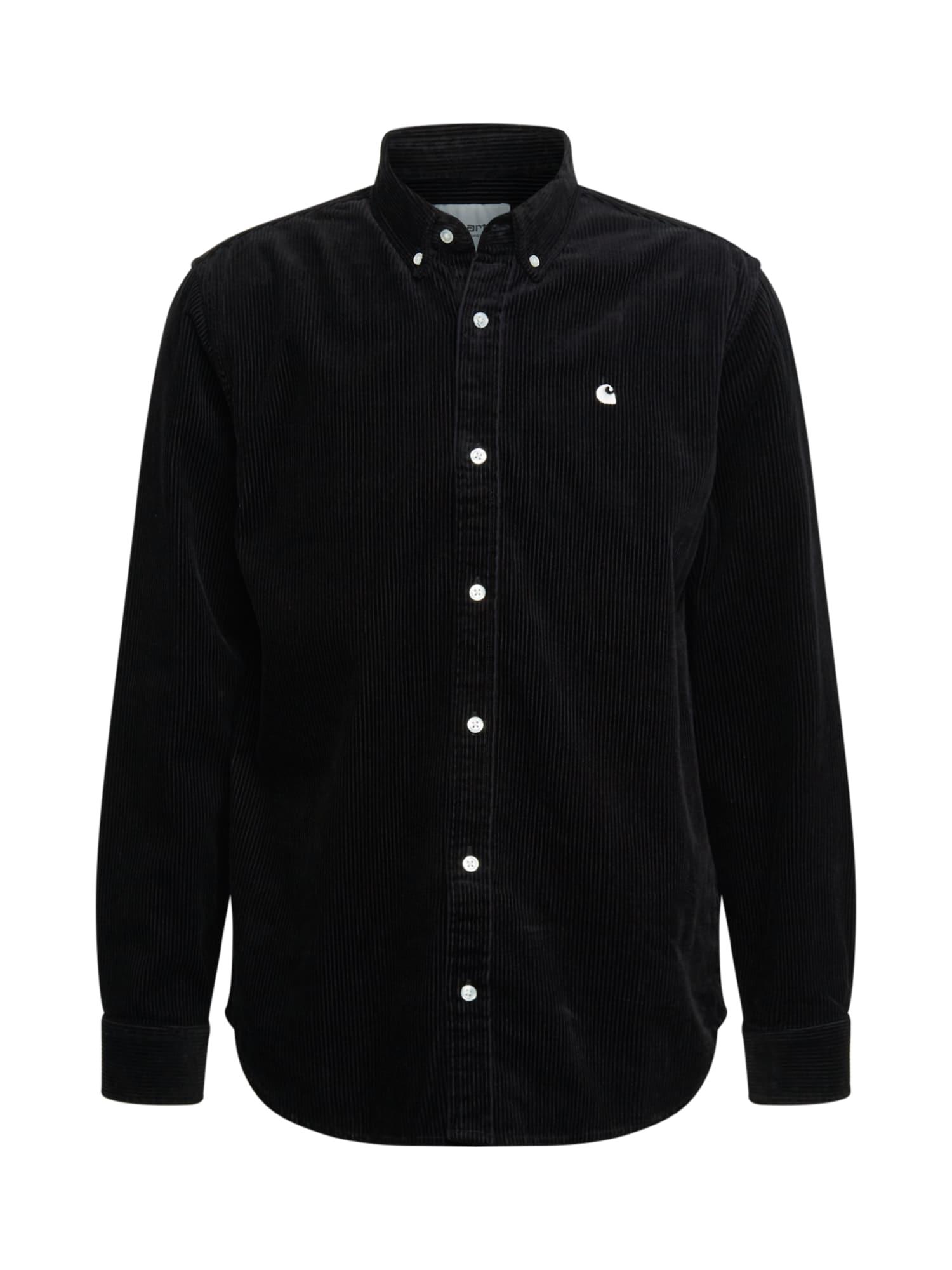 Carhartt WIP Košeľa 'Madison'  čierna
