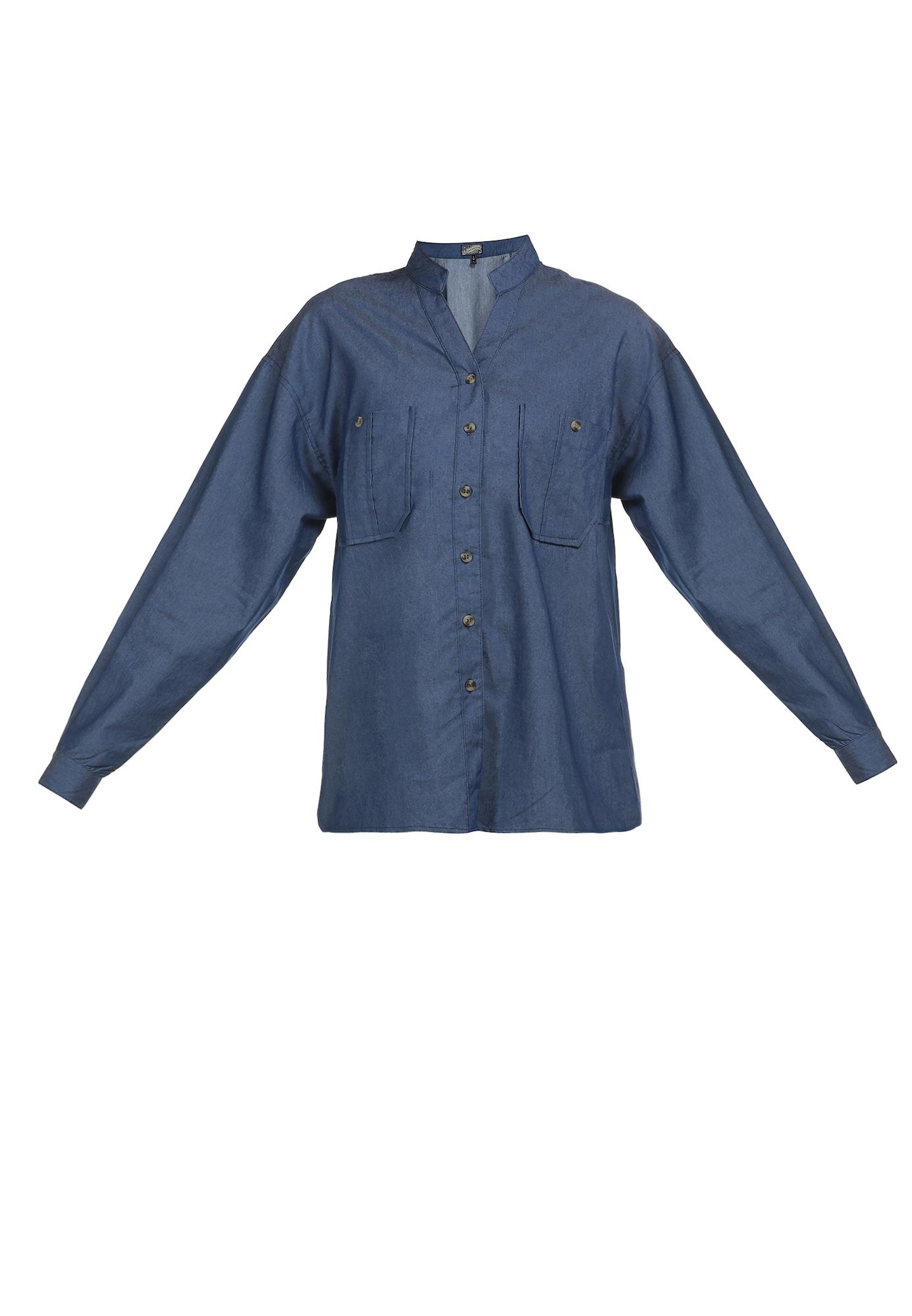 DreiMaster Vintage Palaidinė tamsiai (džinso) mėlyna