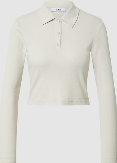 Only Nuvella Langarm Crop Polo-Top