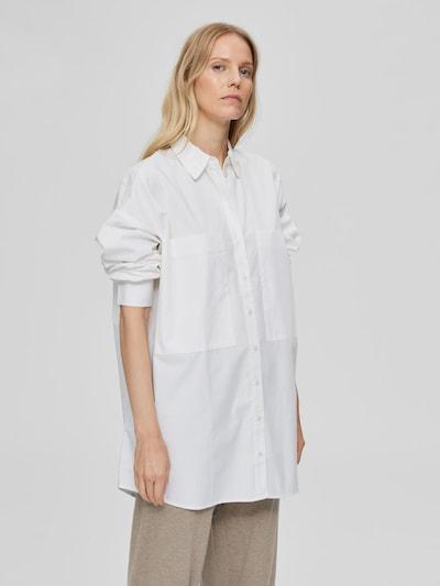 Selected Femme Lali Langarm-Hemd mit Tasche