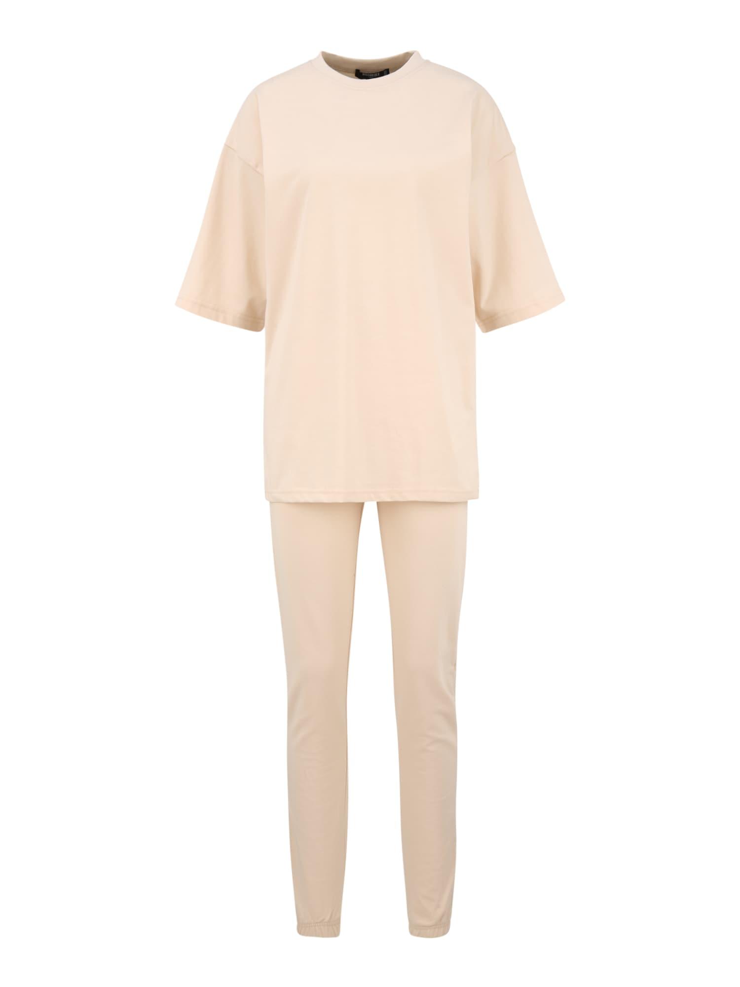 Missguided (Tall) Naminis kostiumas smėlio