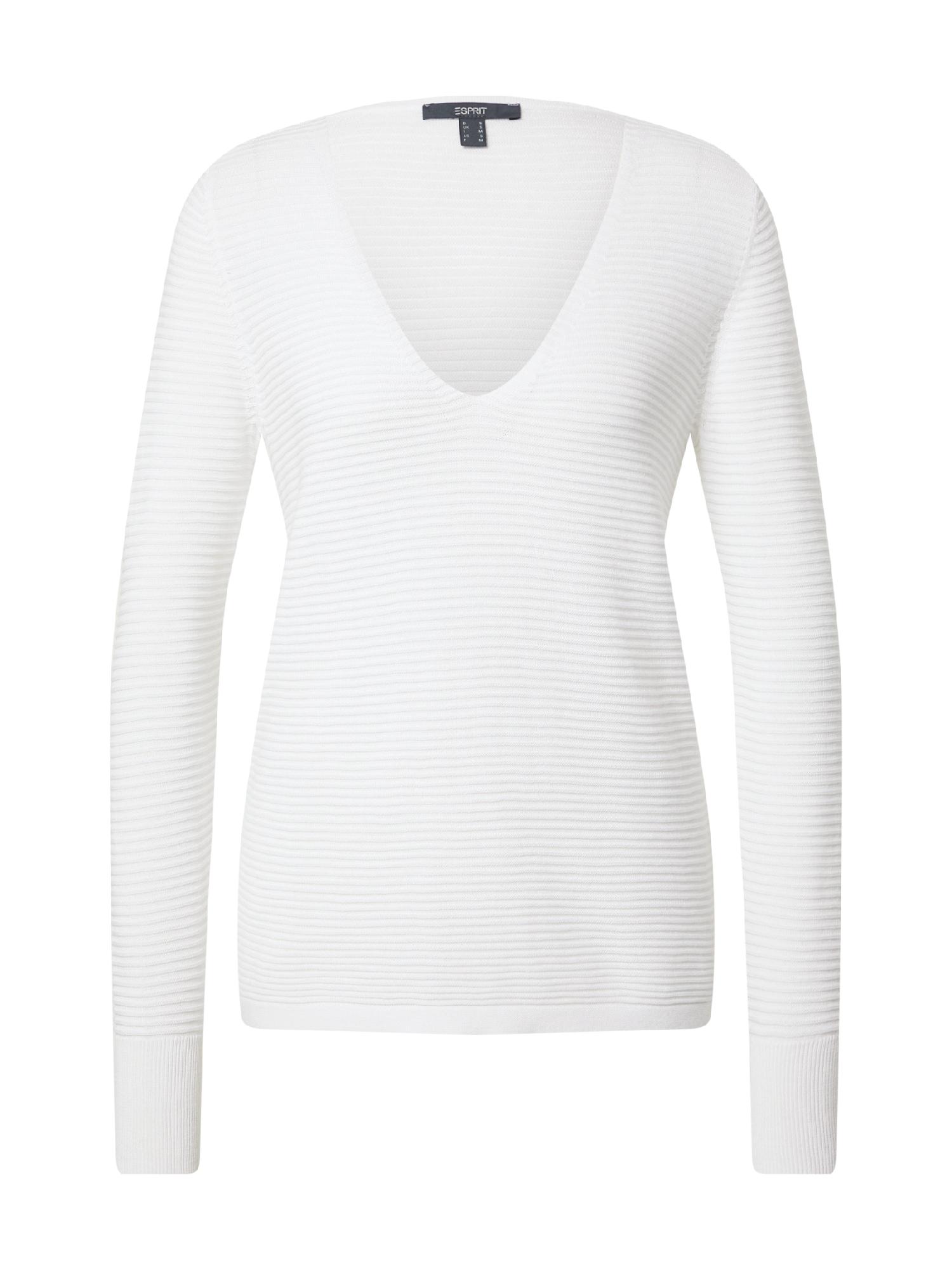 Esprit Collection Megztinis balta