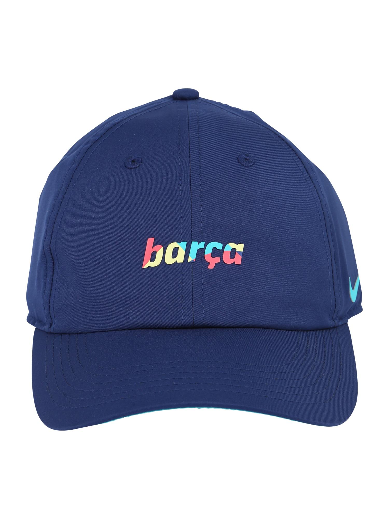 NIKE Sportovní čepice 'BLAUGDI'  modrá / mix barev
