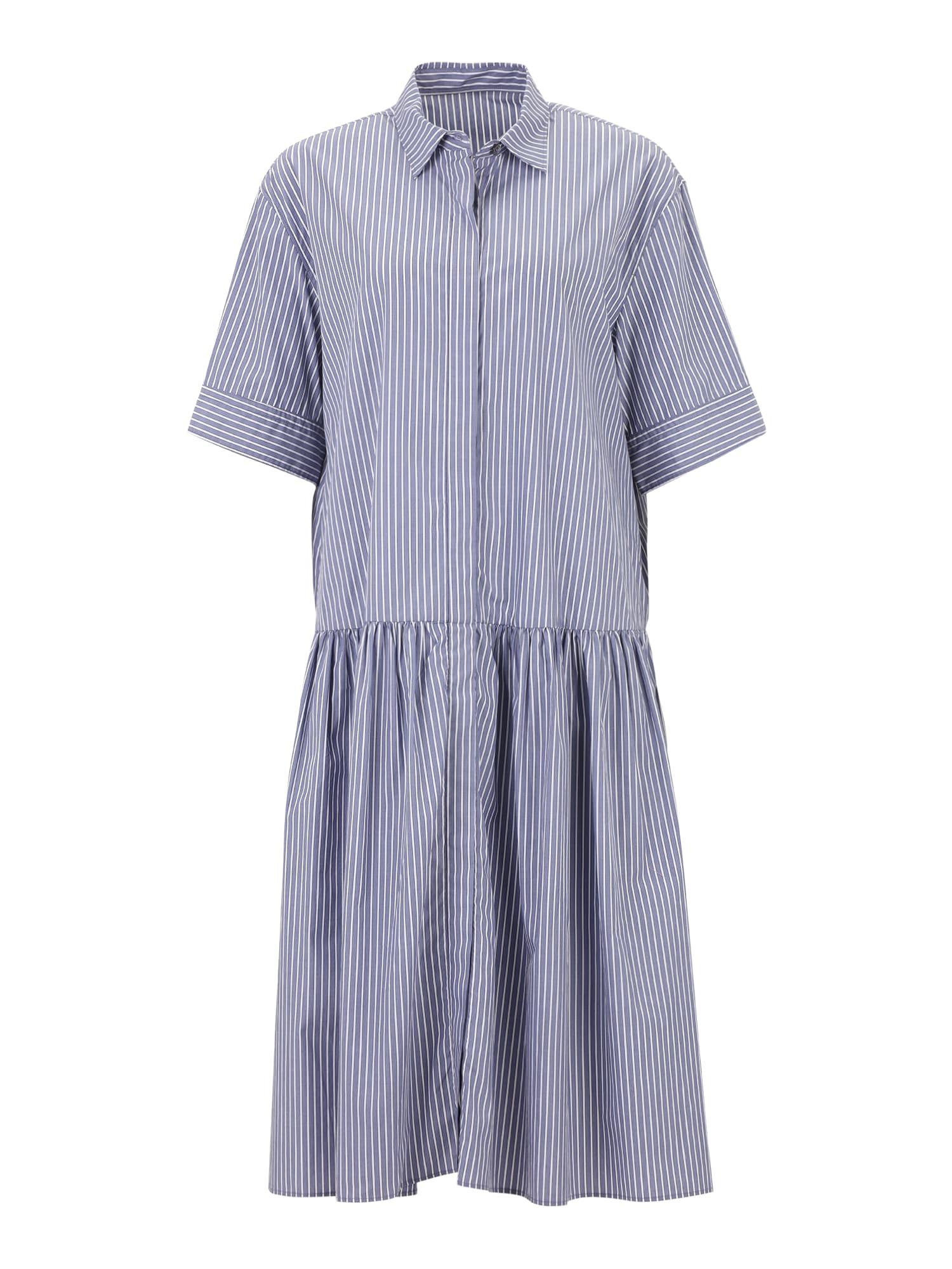 JNBY Palaidinės tipo suknelė indigo spalva / balta