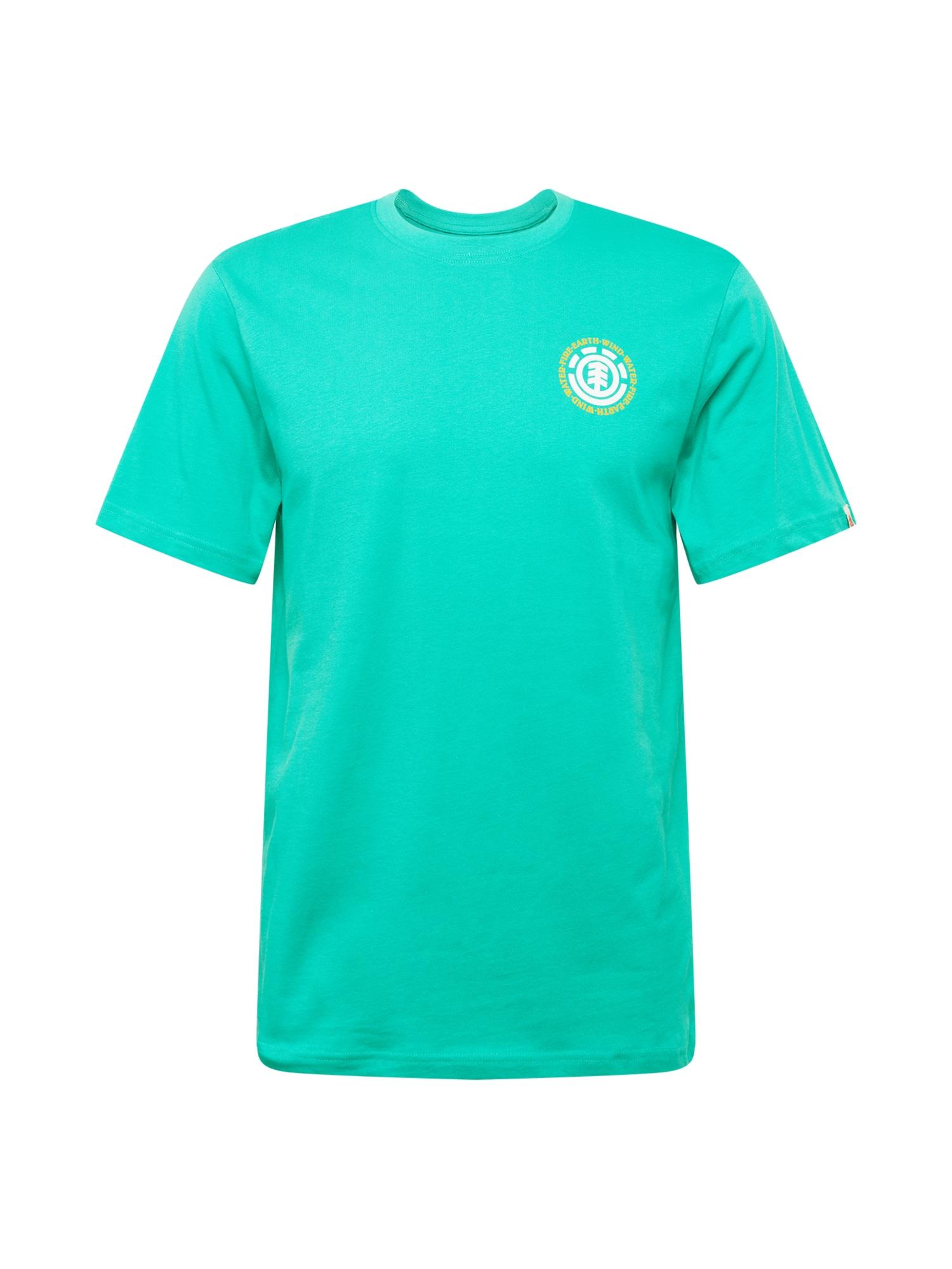 ELEMENT Sportiniai marškinėliai turkio spalva / balta