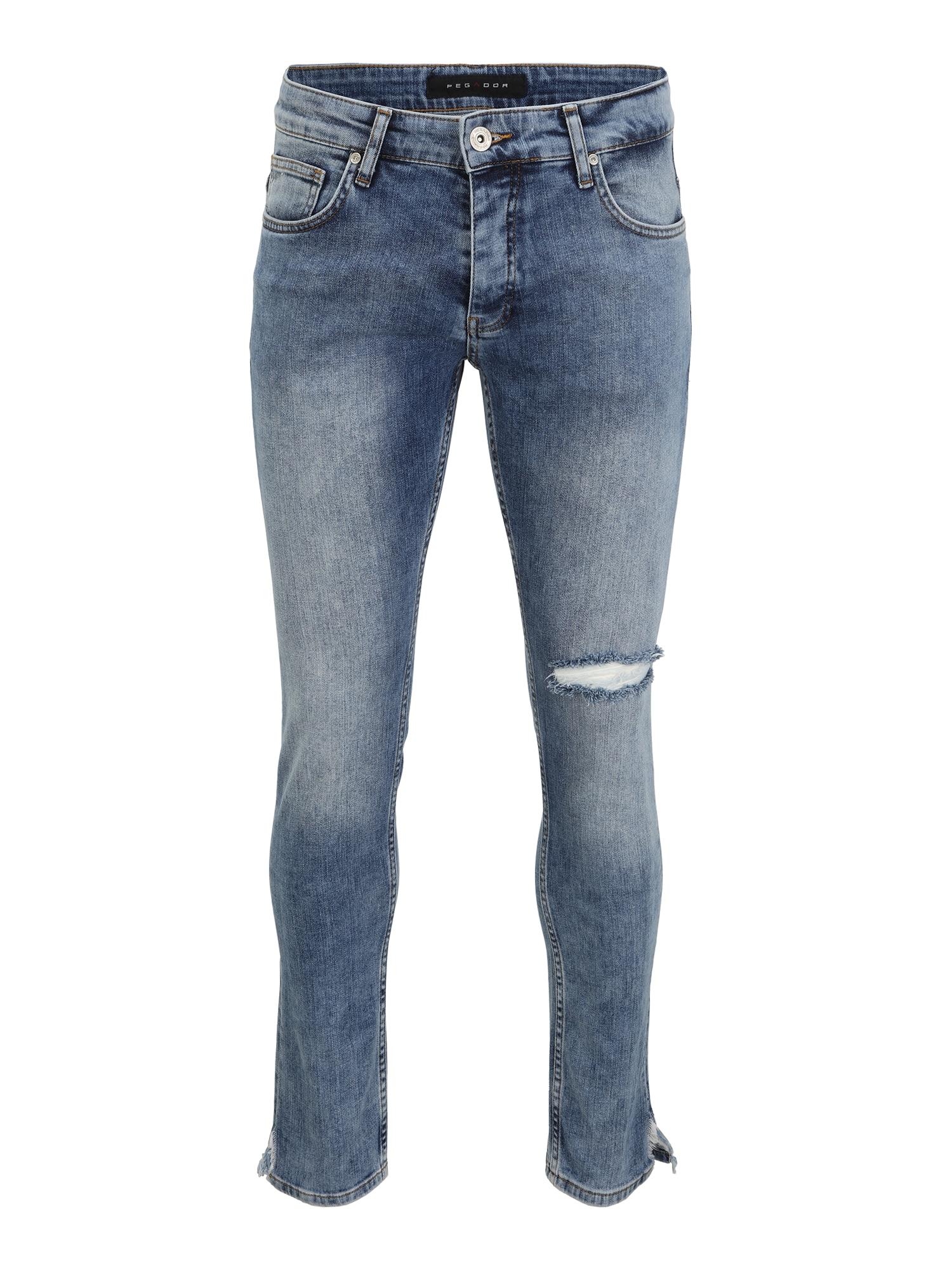 Pegador Džinsai tamsiai (džinso) mėlyna