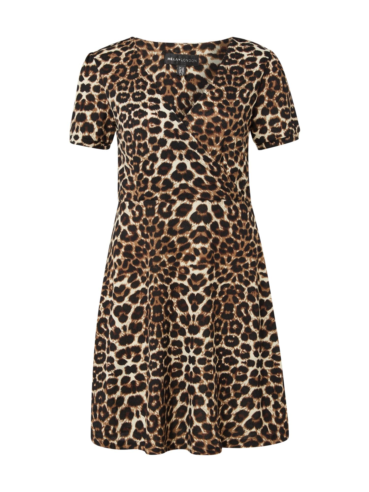 Mela London Suknelė ruda