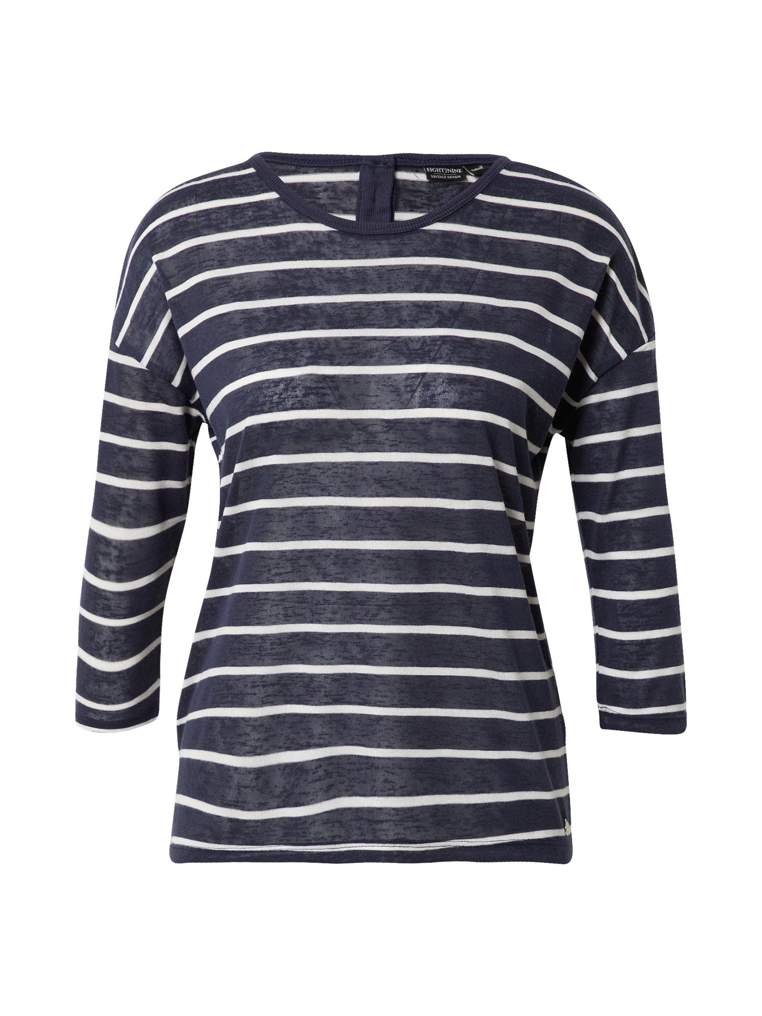 Eight2Nine Marškinėliai balta / mėlyna