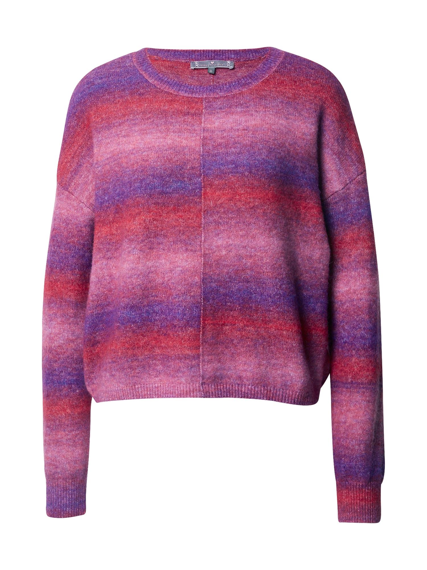 LIEBLINGSSTÜCK Megztinis mėlyna / raudona