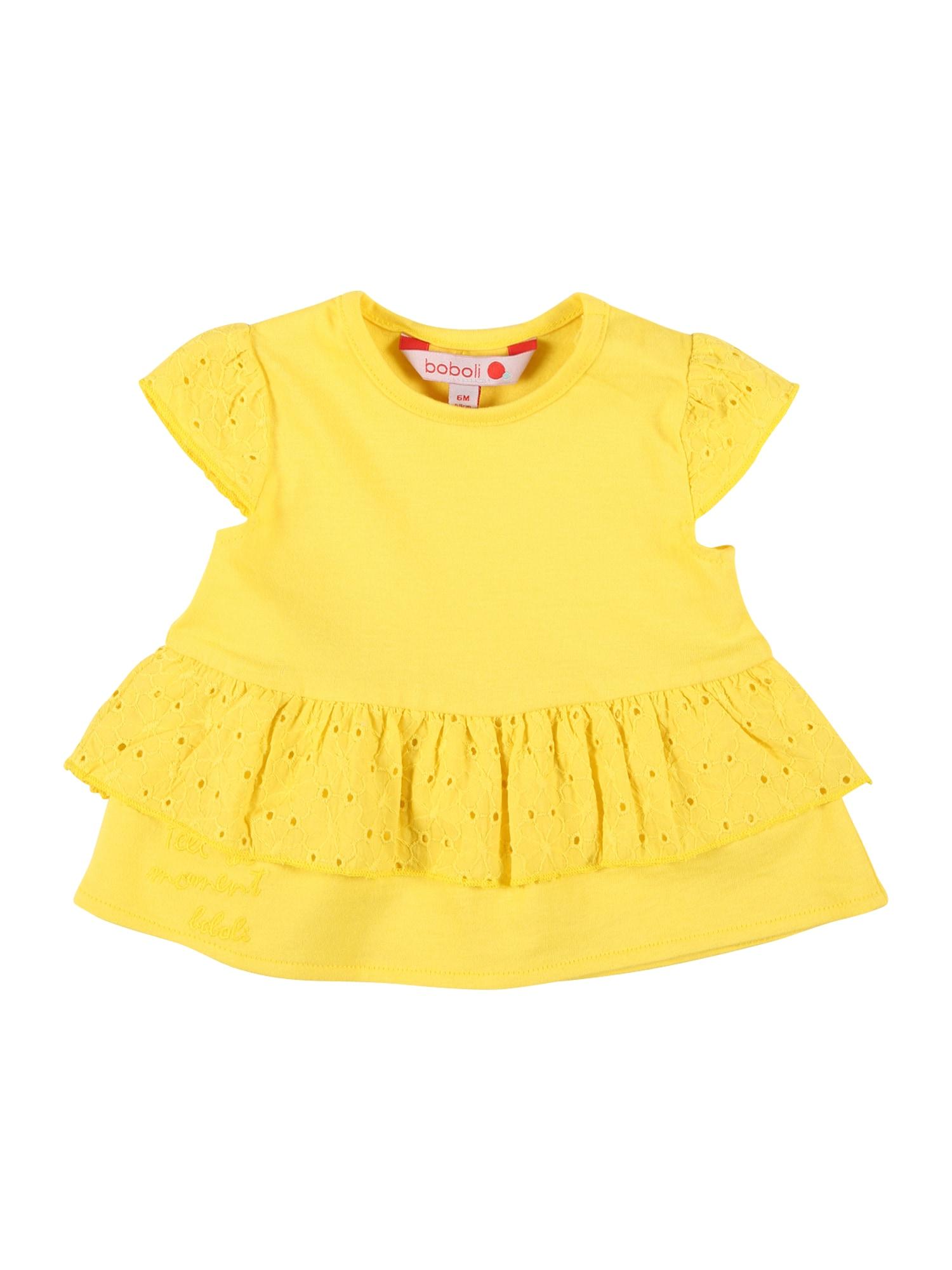 Boboli Marškinėliai geltona