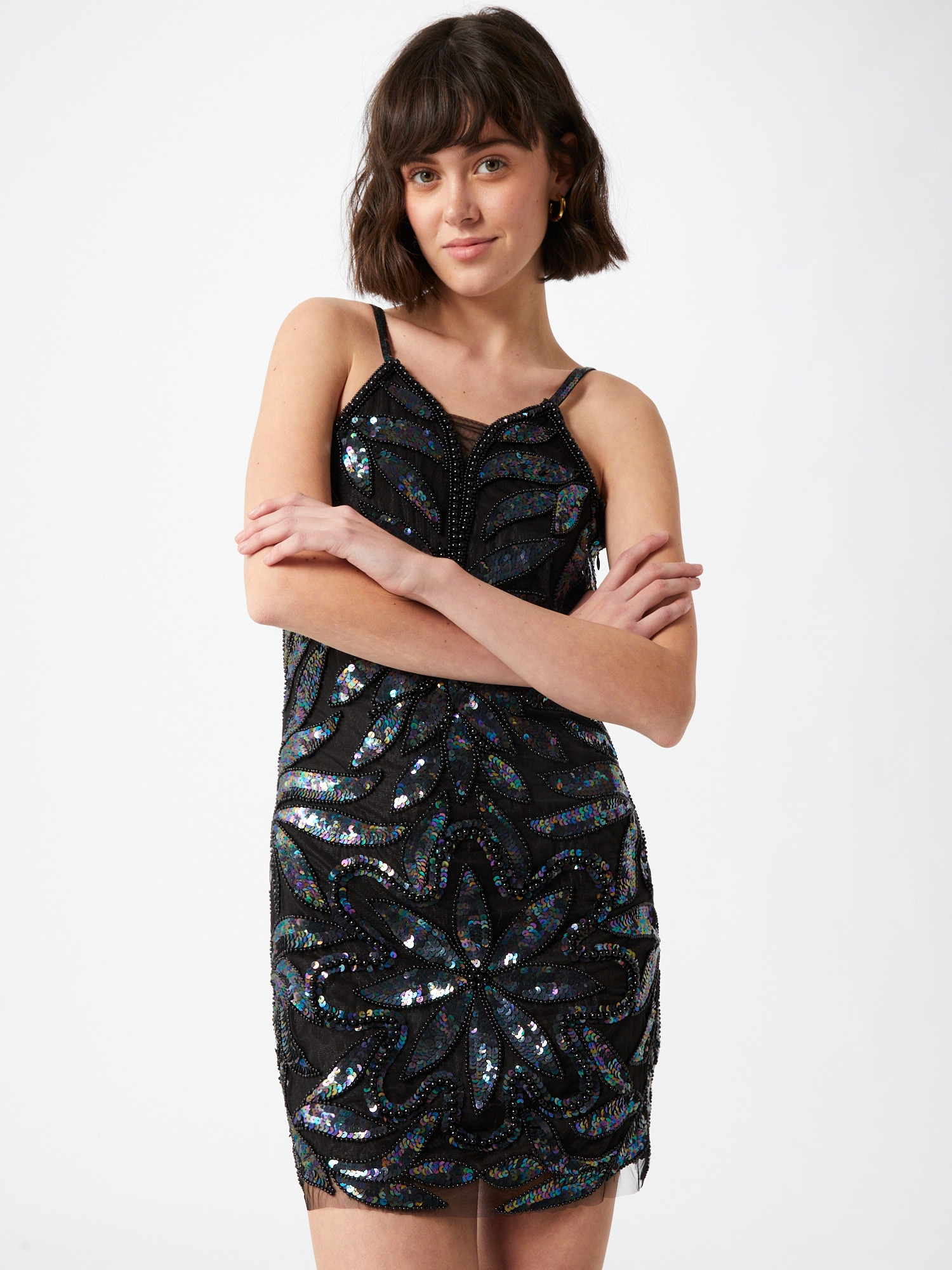 A STAR IS BORN Kokteilové šaty  čierna.