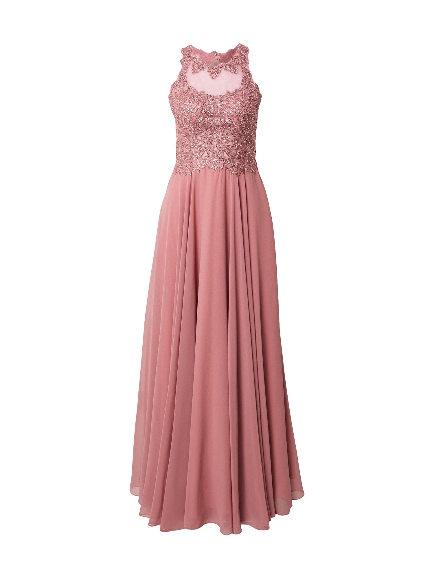 mascara Vakarinė suknelė ryškiai rožinė spalva