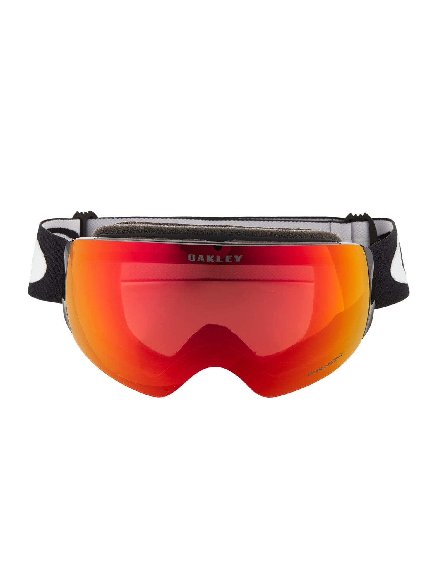 OAKLEY Sportiniai akiniai 'Flight Deck' raudona / juoda