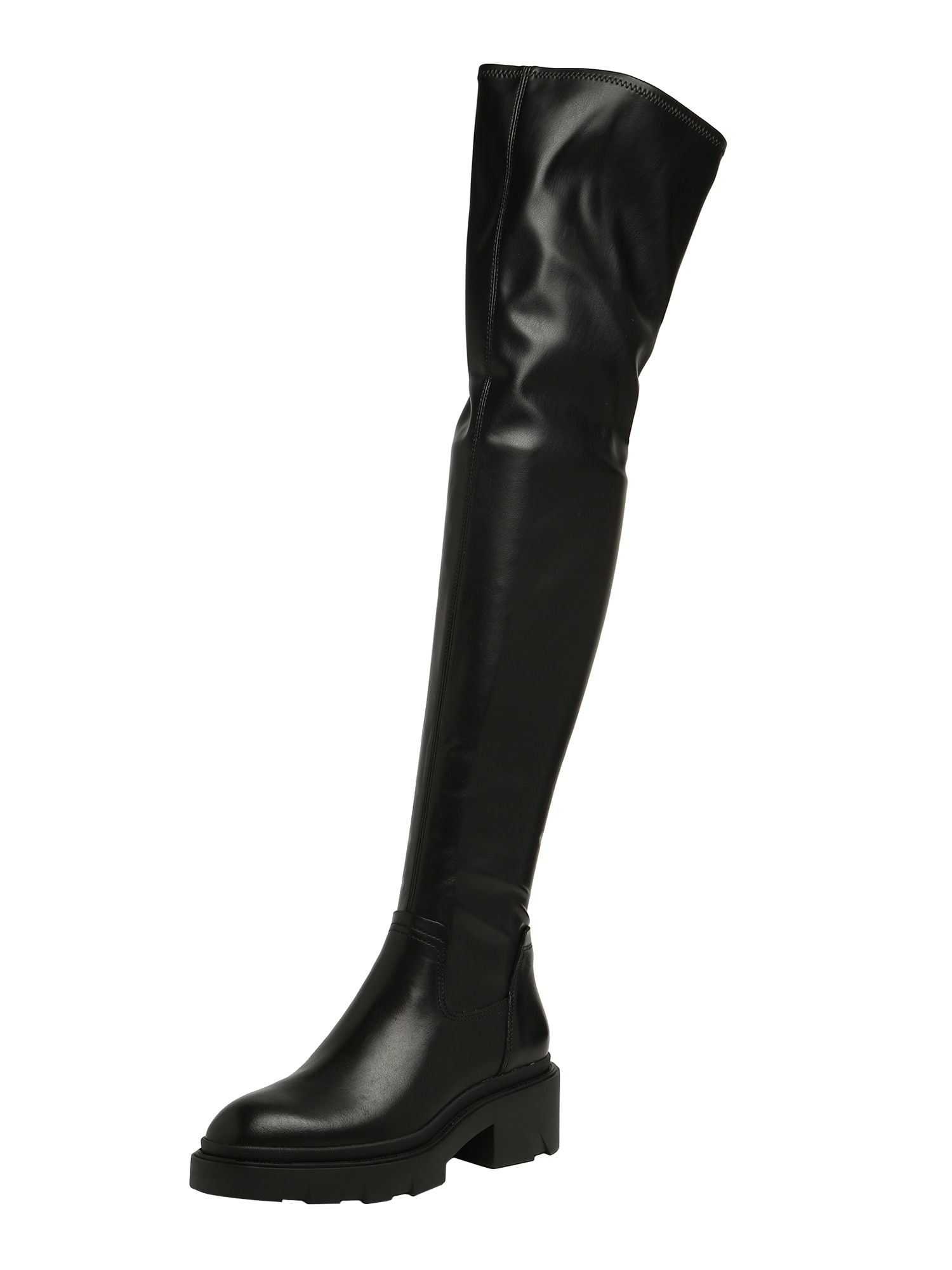 ASH Kozačky nad kolena 'Manhattan'  černá