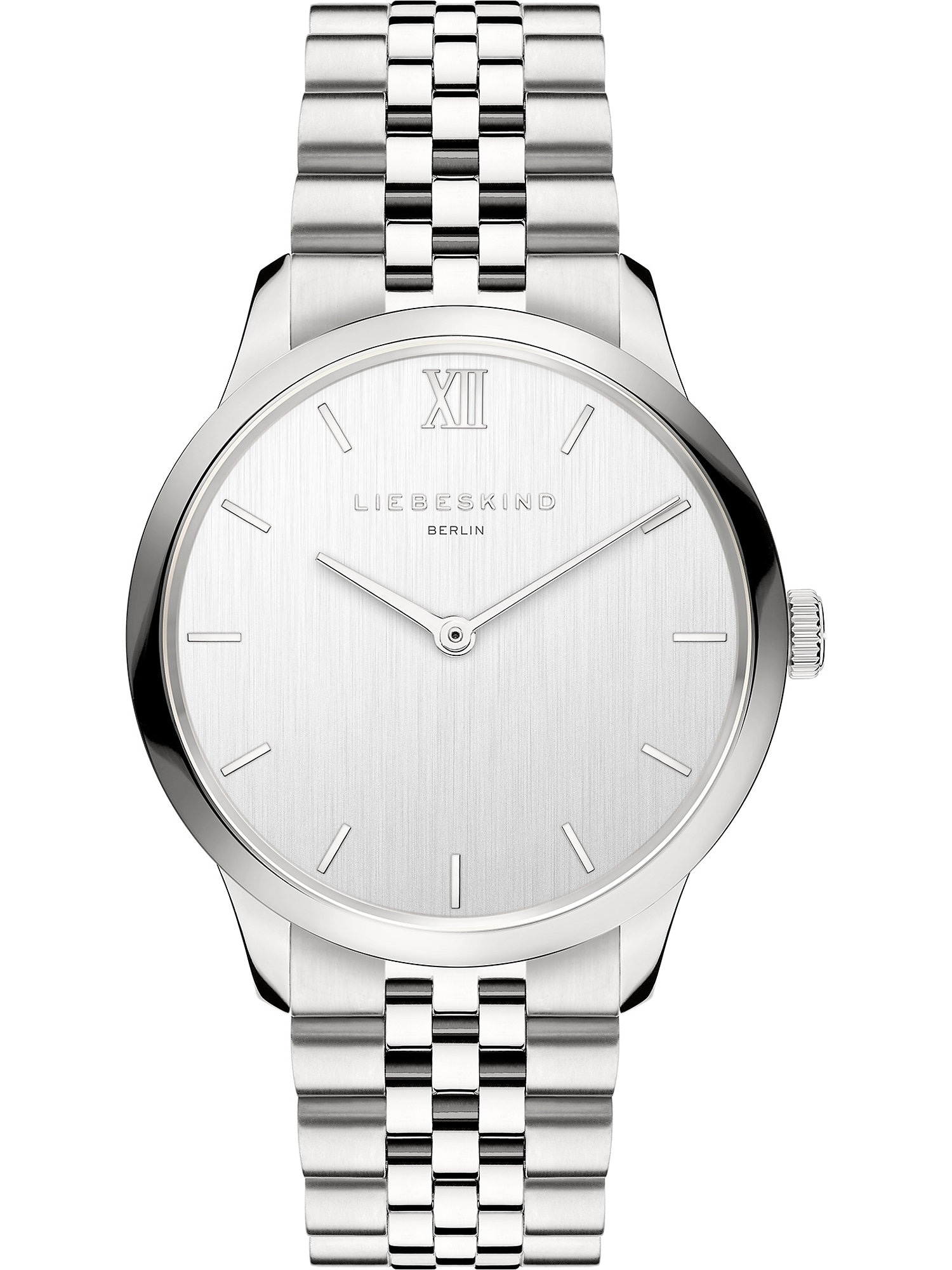 Liebeskind Berlin Analoginis (įprasto dizaino) laikrodis sidabrinė