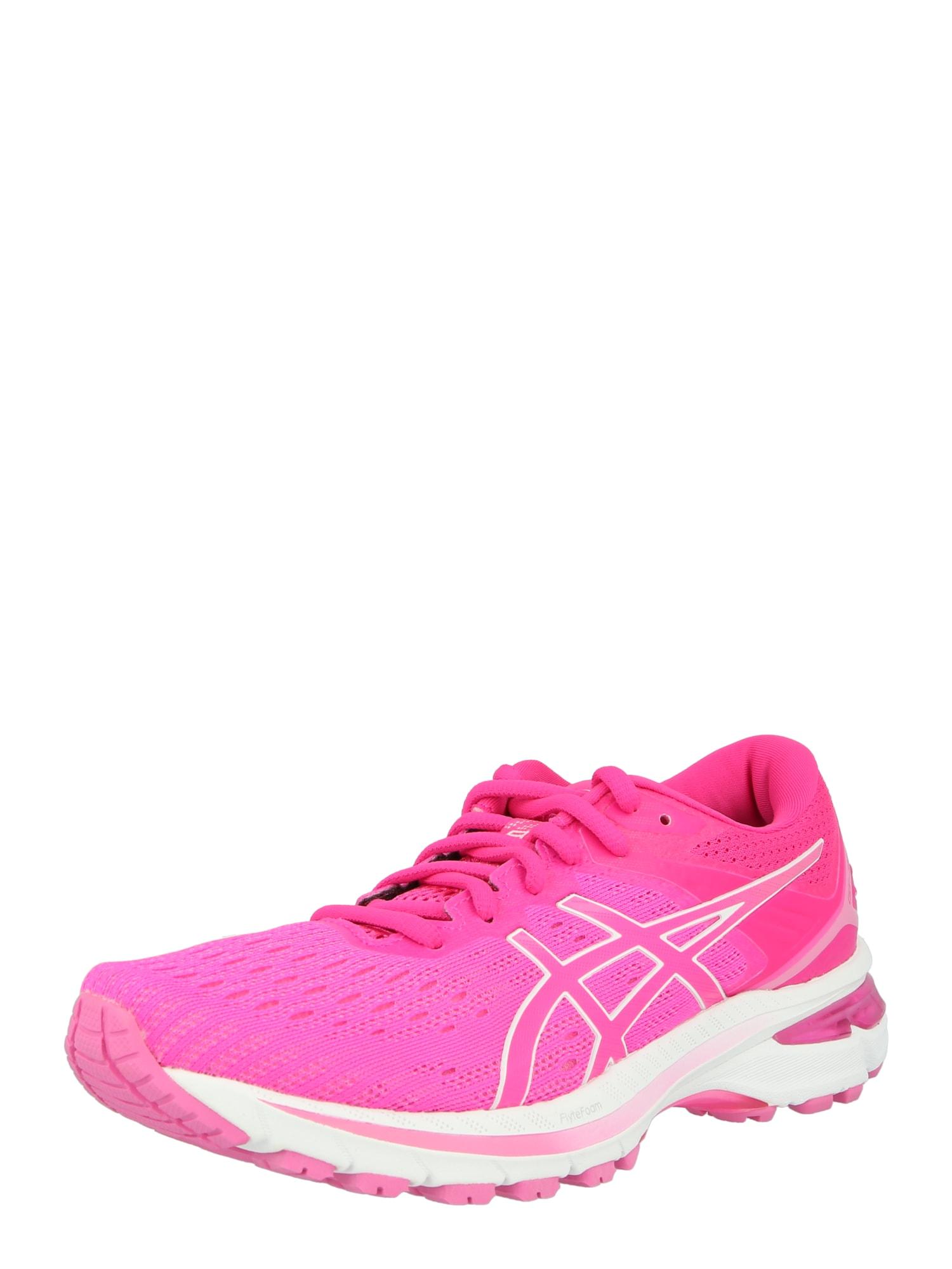 ASICS Bėgimo batai rožinė / balta