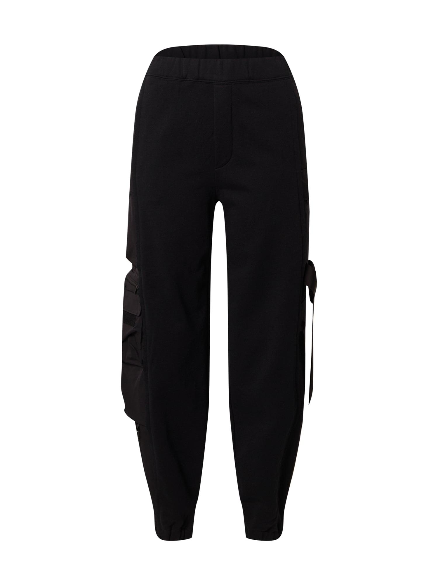 JNBY Laisvo stiliaus kelnės juoda