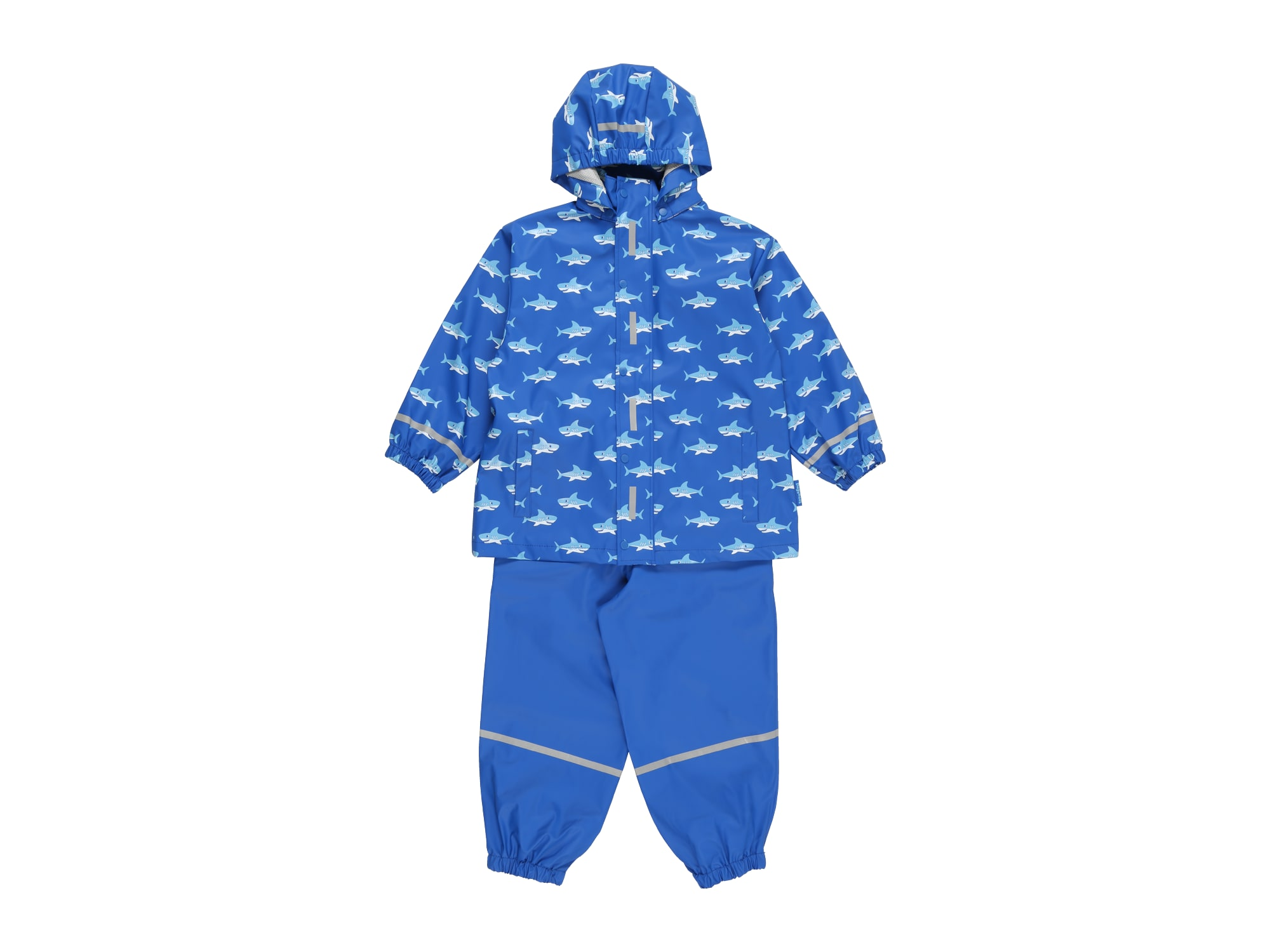PLAYSHOES Funkcinis kostiumas 'Hai' mėlyna