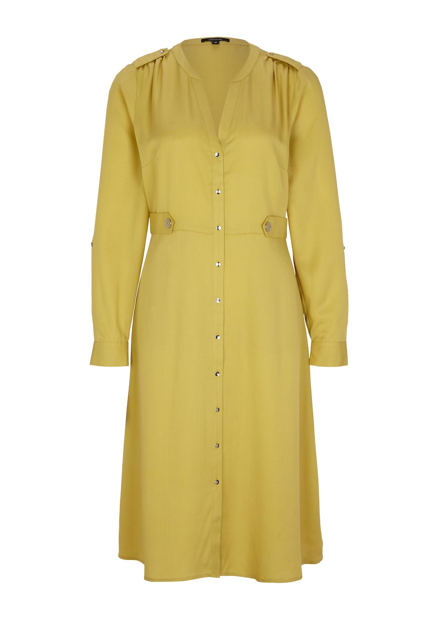 COMMA Šaty  žlutá