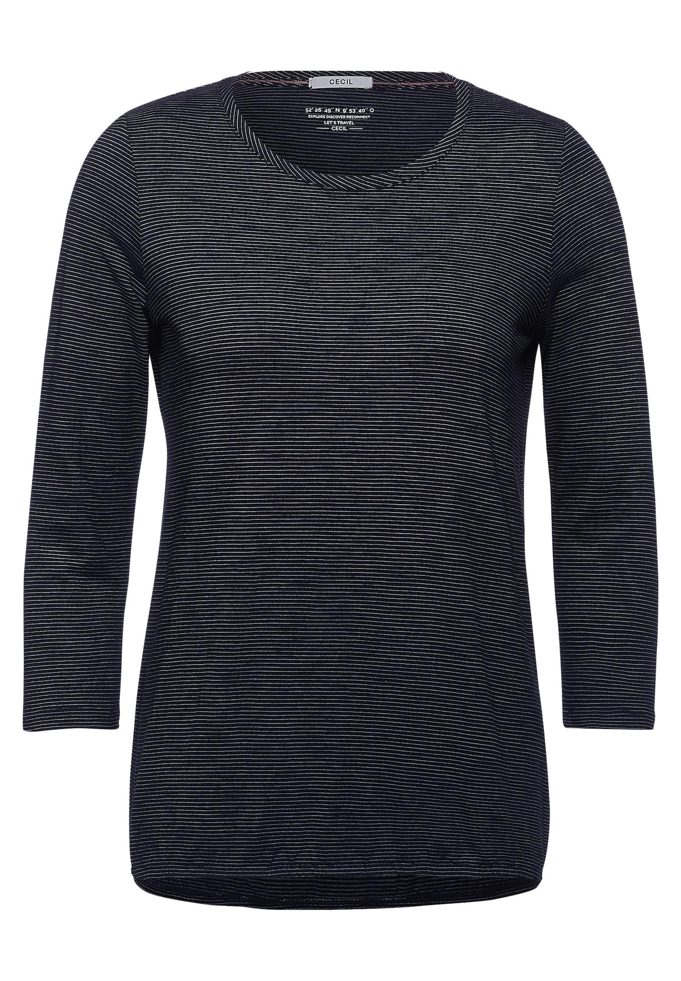 CECIL Marškinėliai juoda