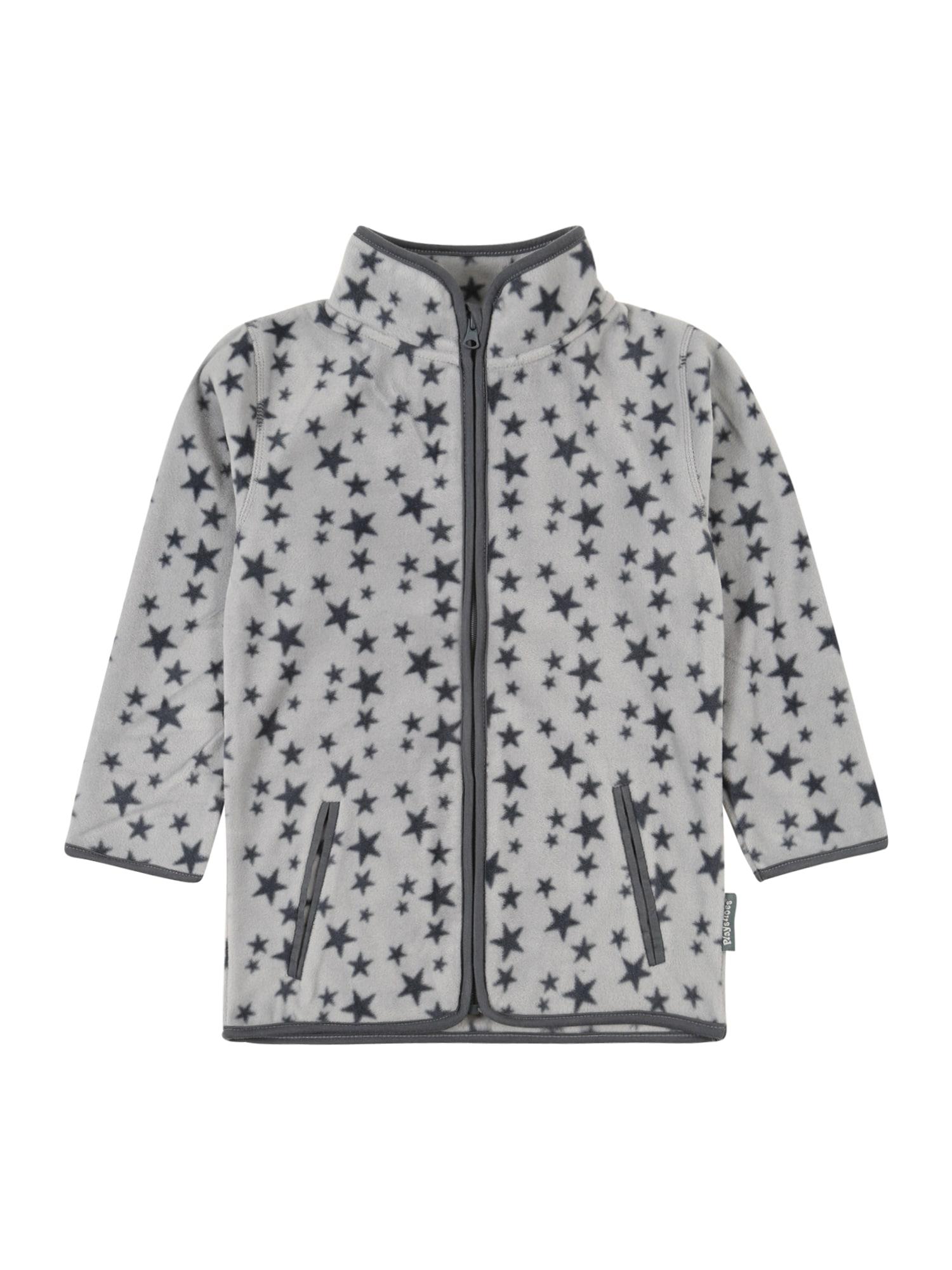 PLAYSHOES Flisinis džemperis pilka / tamsiai pilka