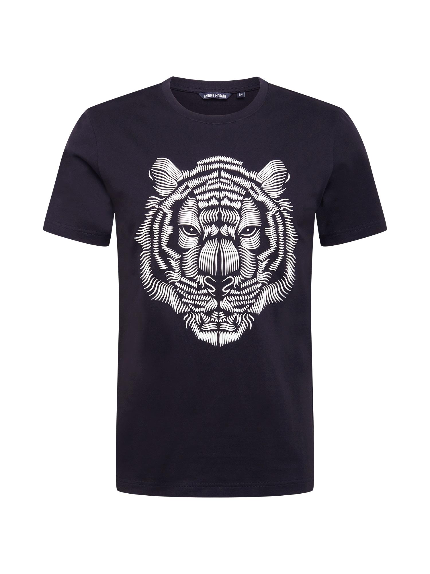 ANTONY MORATO Marškinėliai juoda / balta