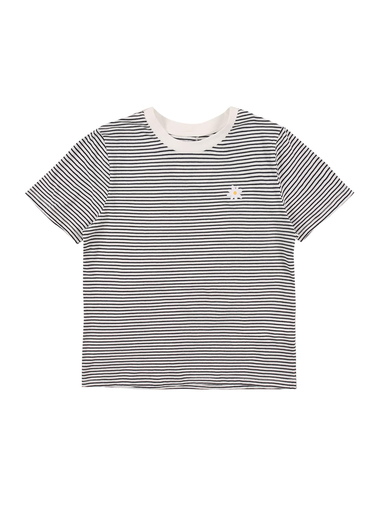 Cotton On Marškinėliai balta / tamsiai mėlyna