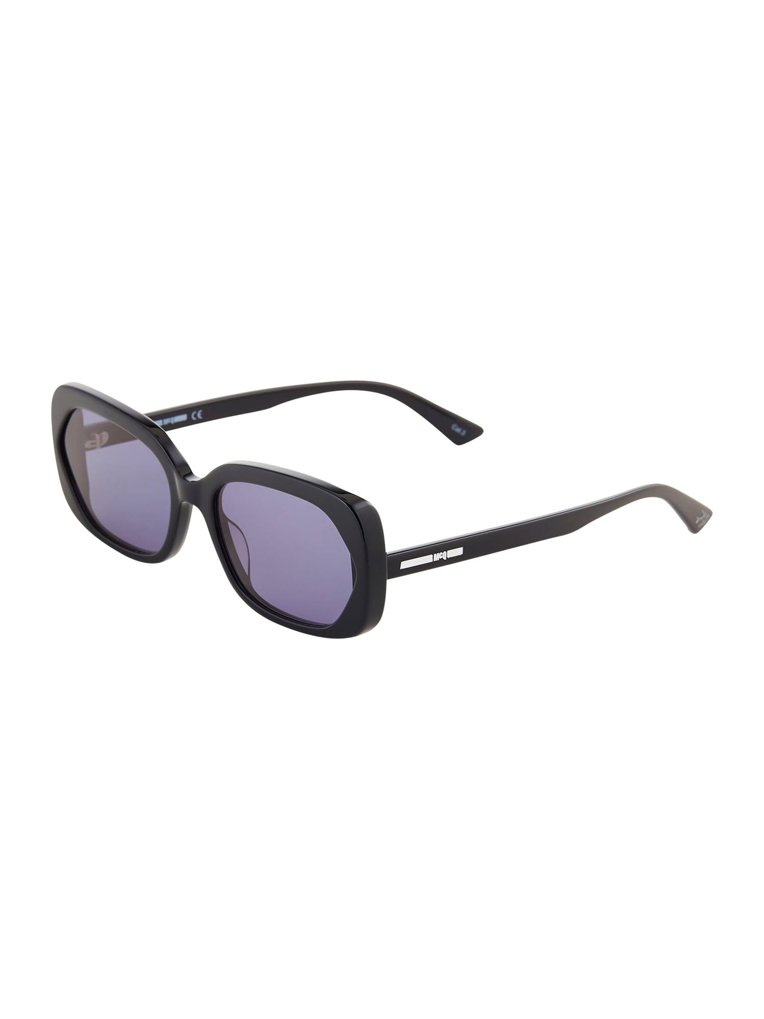 McQ Alexander McQueen Sluneční brýle  černá / fialkově modrá