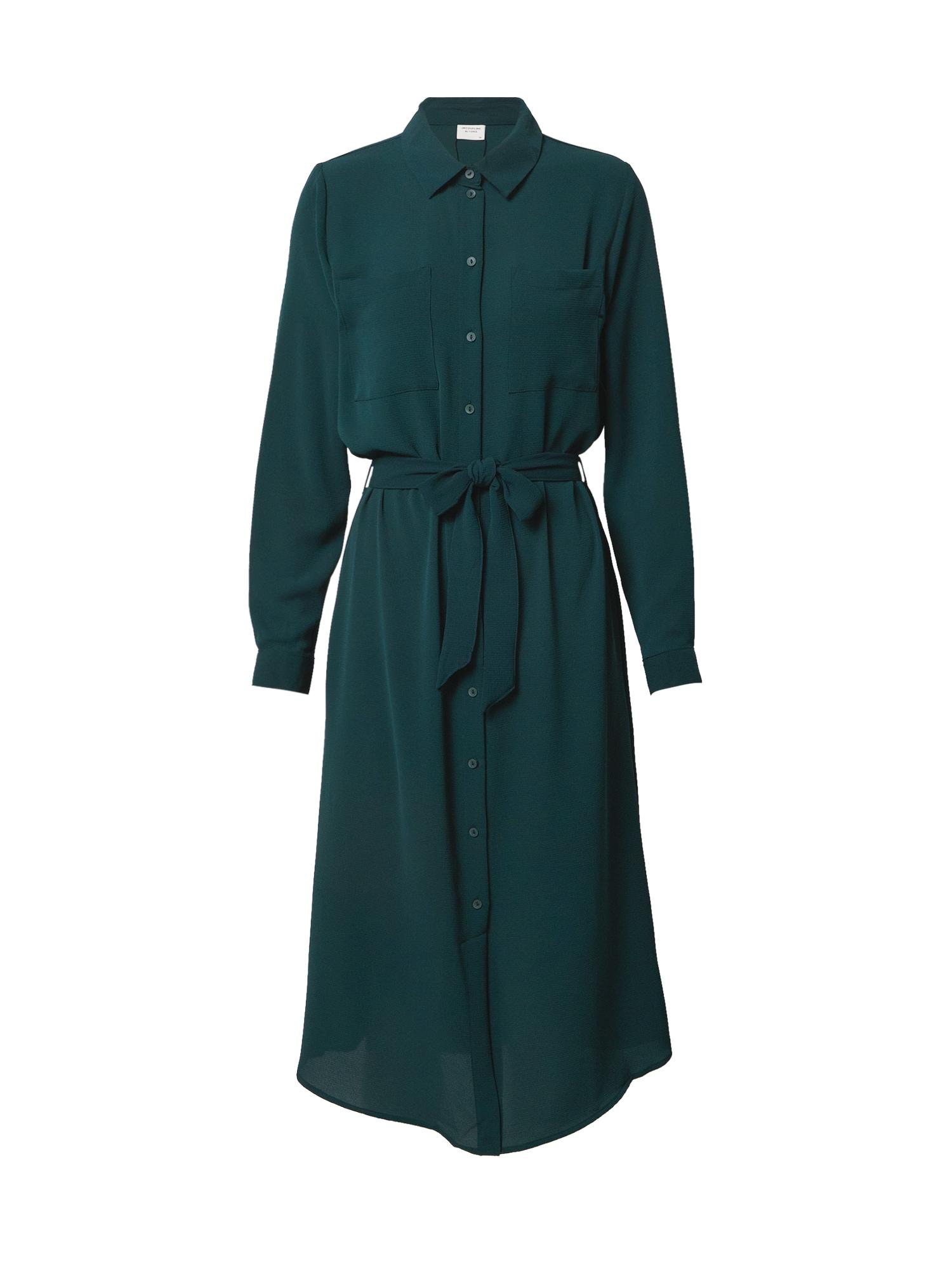 JACQUELINE de YONG Palaidinės tipo suknelė tamsiai žalia