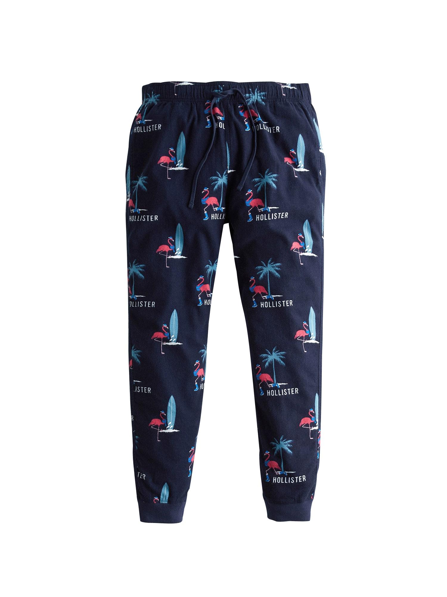 HOLLISTER Kalhoty  námořnická modř / bílá / pink / světlemodrá