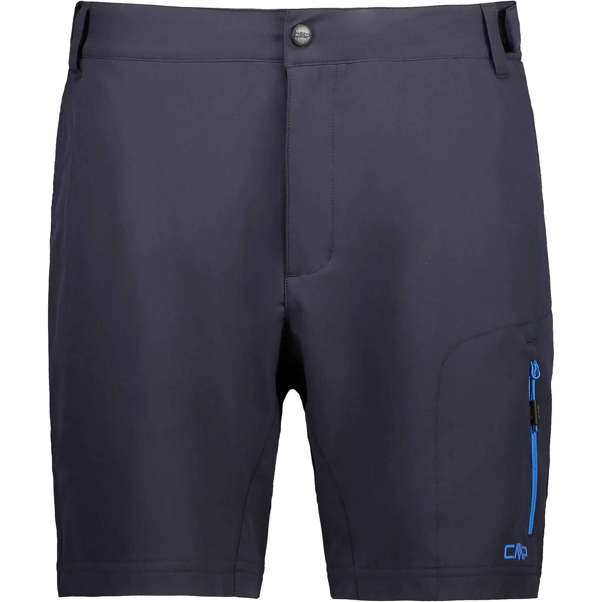 CMP Sportovní kalhoty  tmavě šedá / modrá