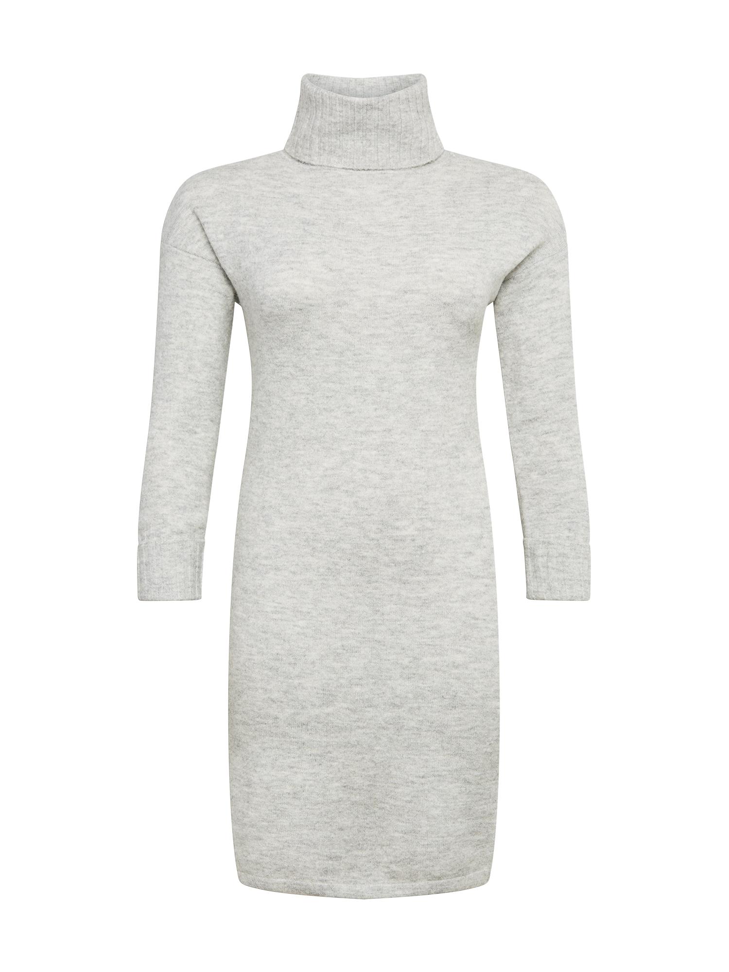 Vero Moda Curve Megzta suknelė pilka