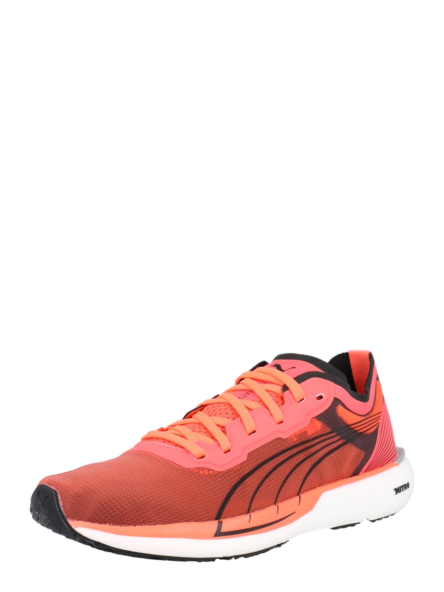PUMA Bėgimo batai juoda / rožinė
