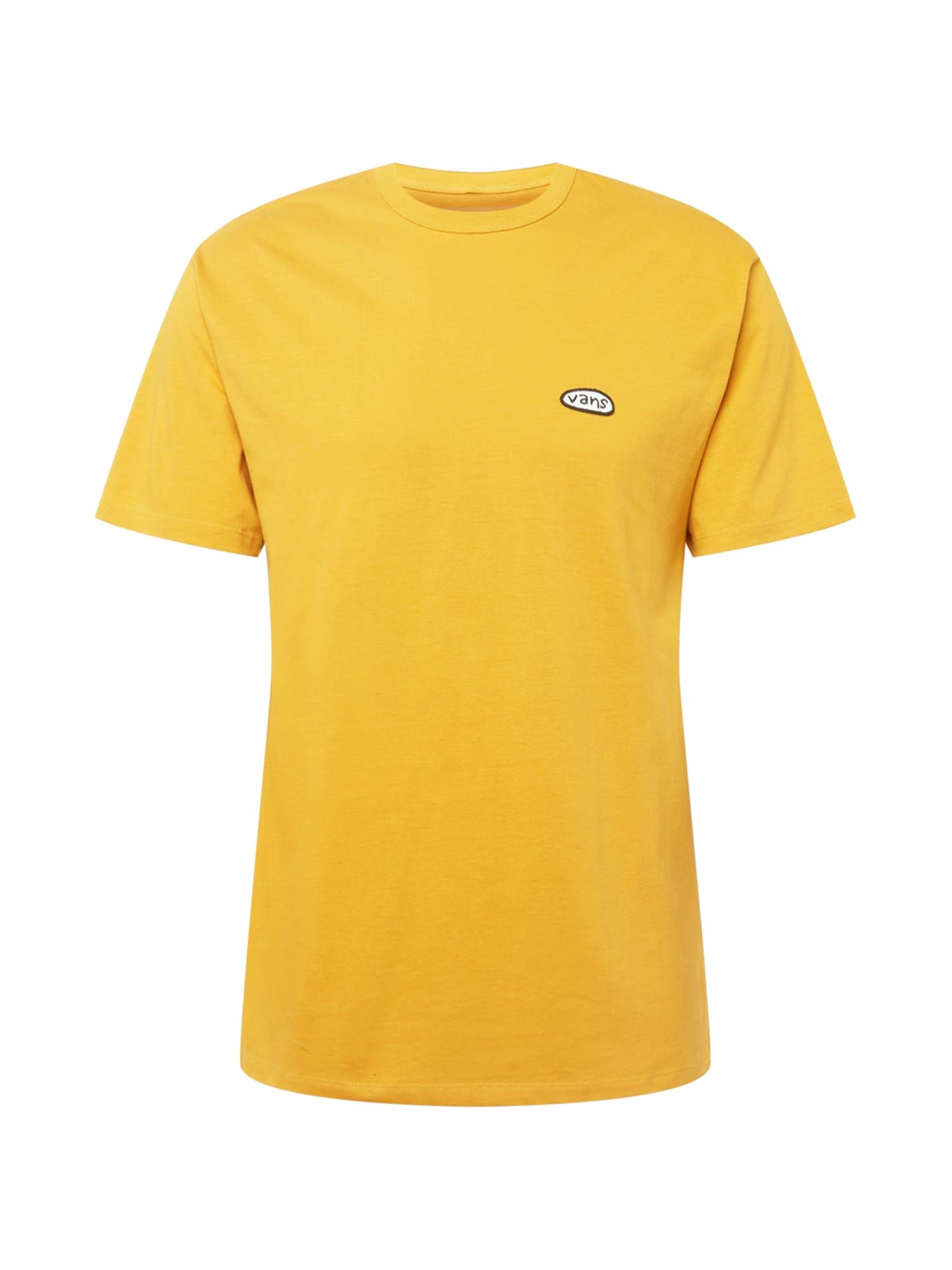 VANS Tričko  žlutá