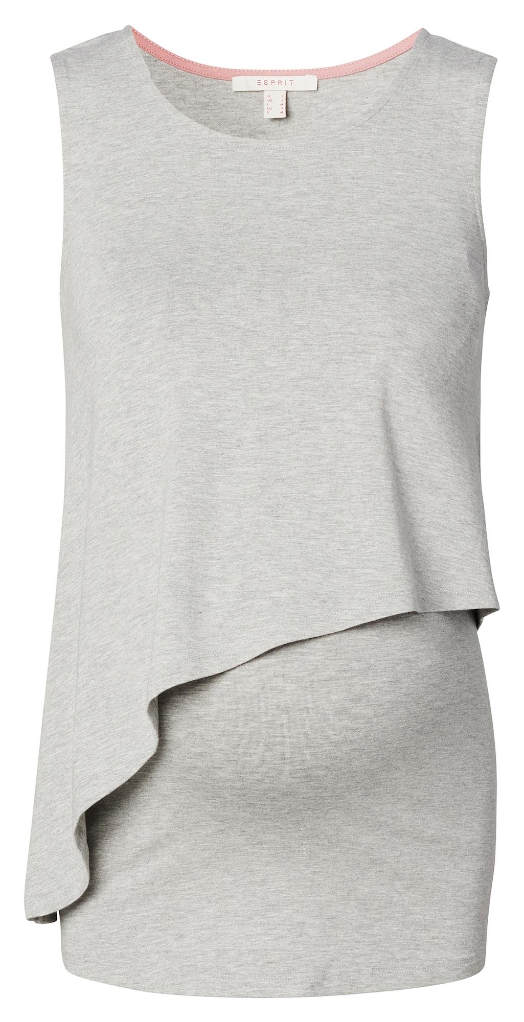 Esprit Maternity Marškinėliai šviesiai pilka