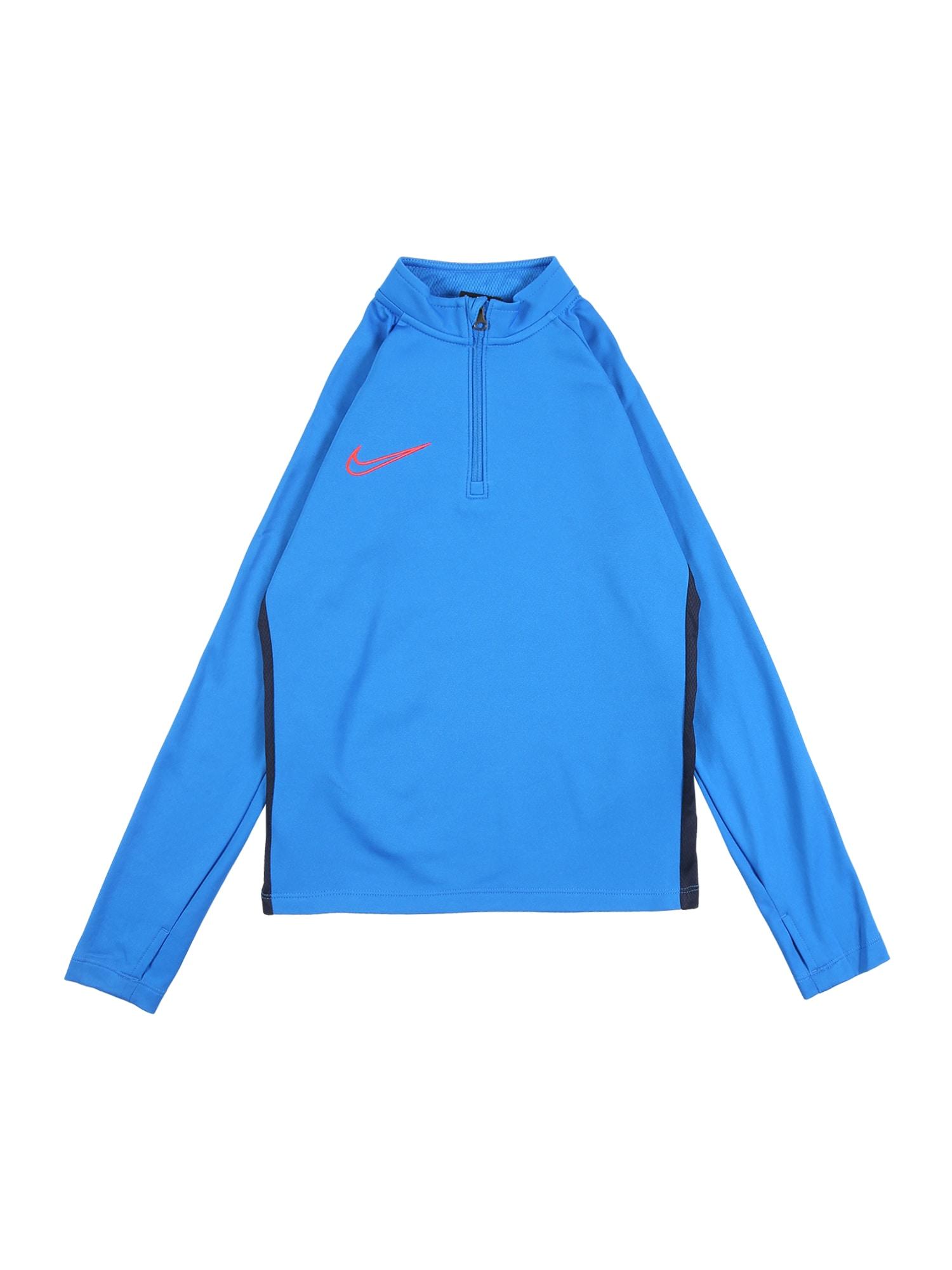 NIKE Sportinio tipo megztinis mėlyna