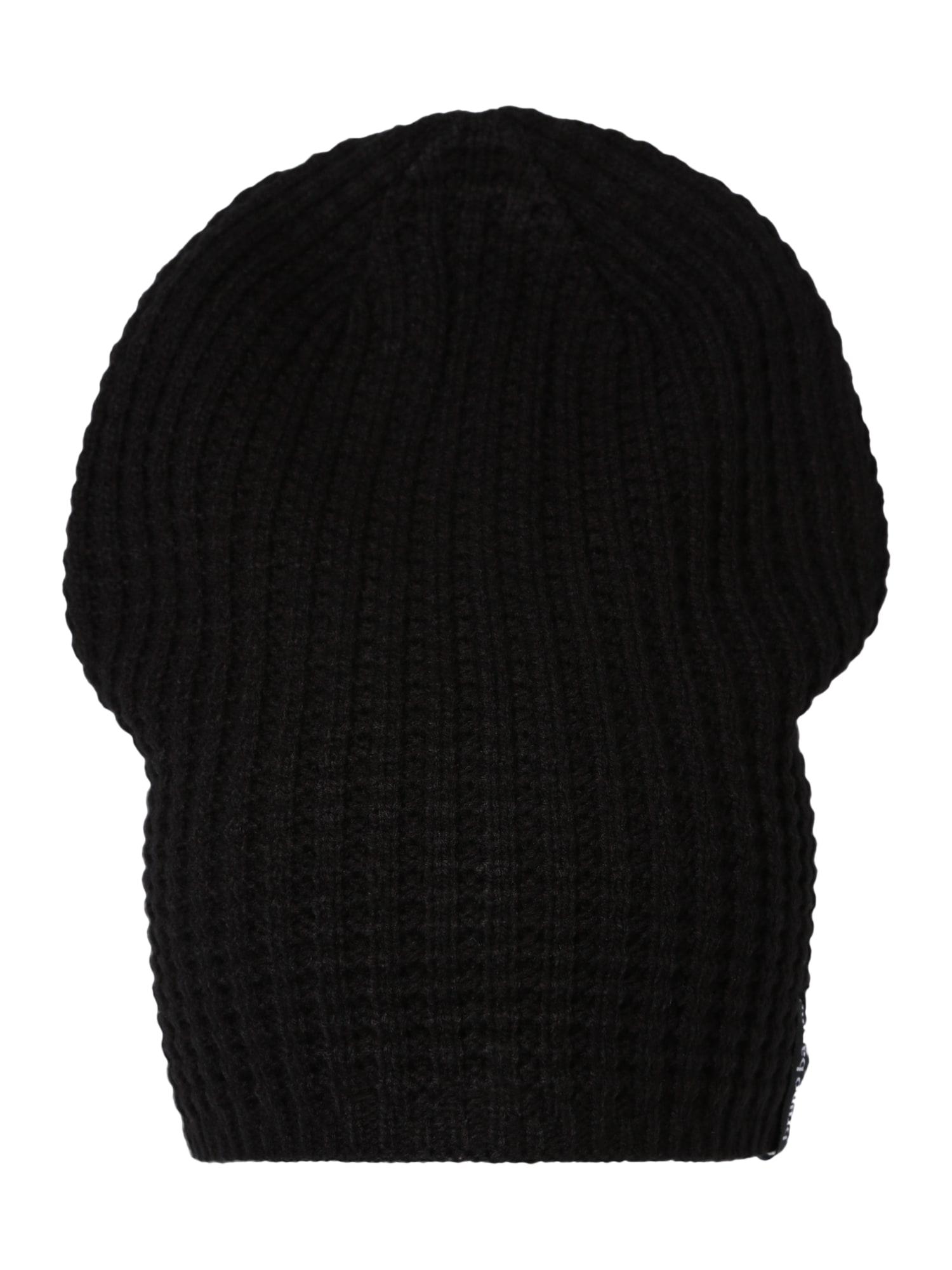 BRUNO BANANI Megzta kepurė juoda