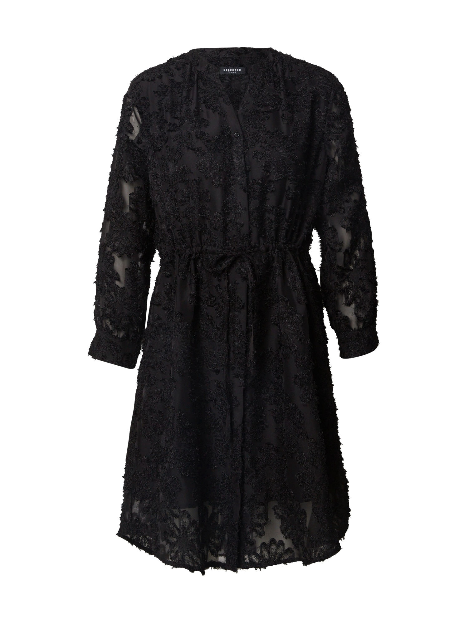 SELECTED FEMME Kokteilinė suknelė 'DANIELA' juoda