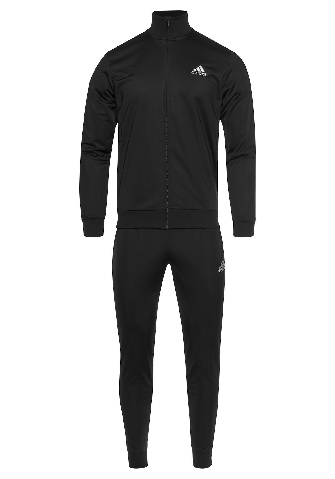 ADIDAS PERFORMANCE Sportovní souprava  černá / bílá