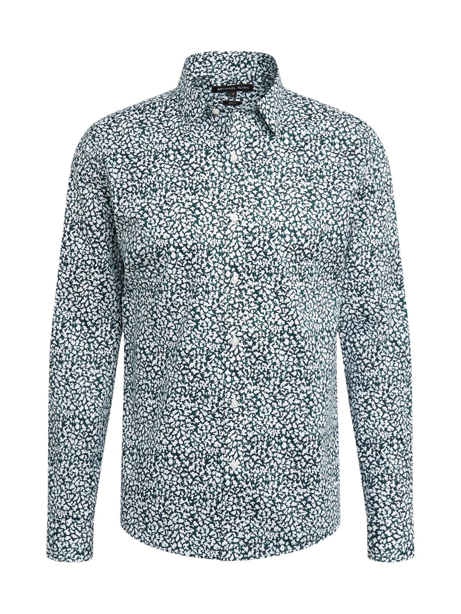 Michael Kors Marškiniai žalia / balta